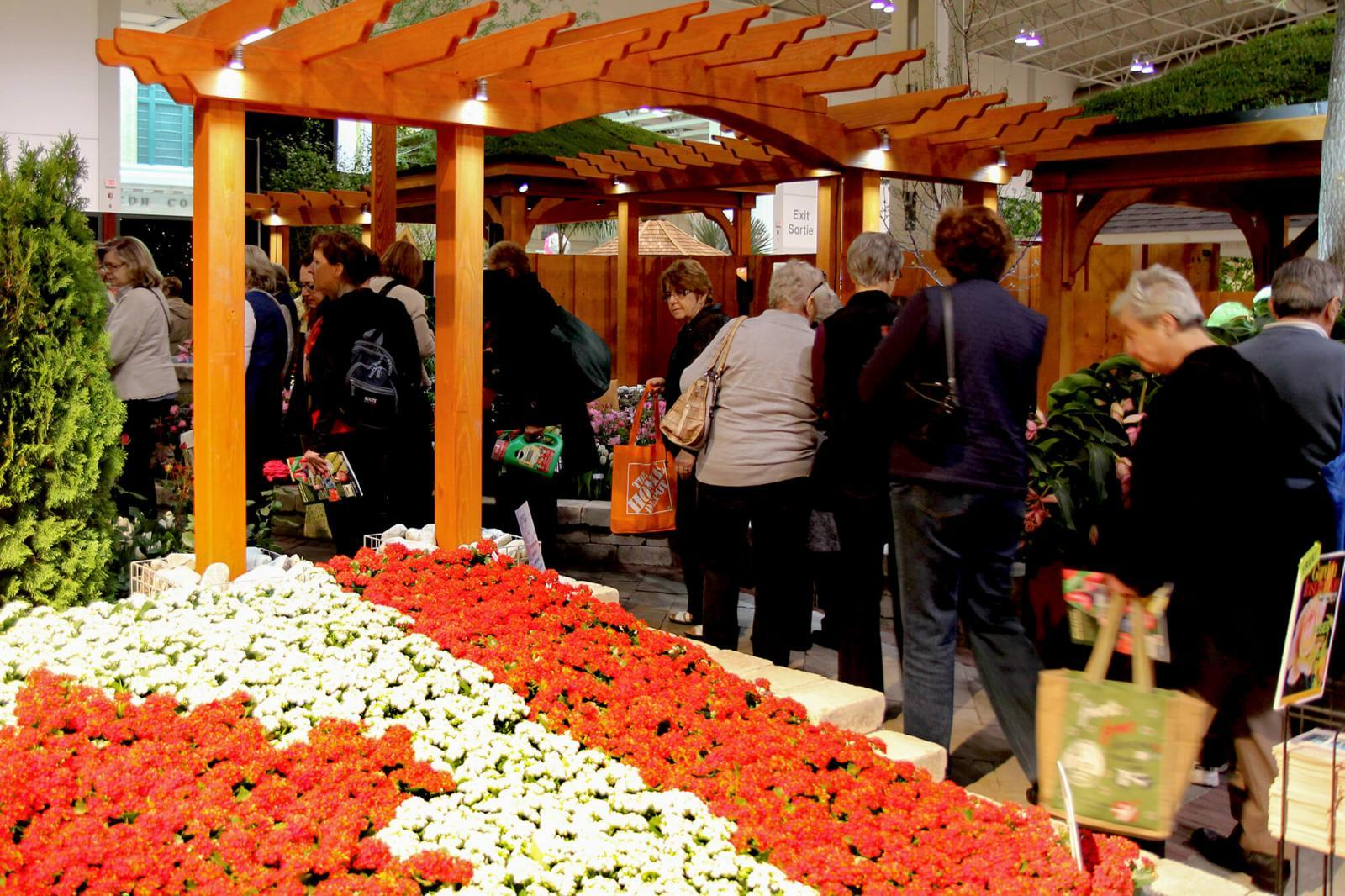 Over 200,000 people pass through Canada Blooms, making it one of the best opportunities to show the high-end skills of Landscape Ontario members.