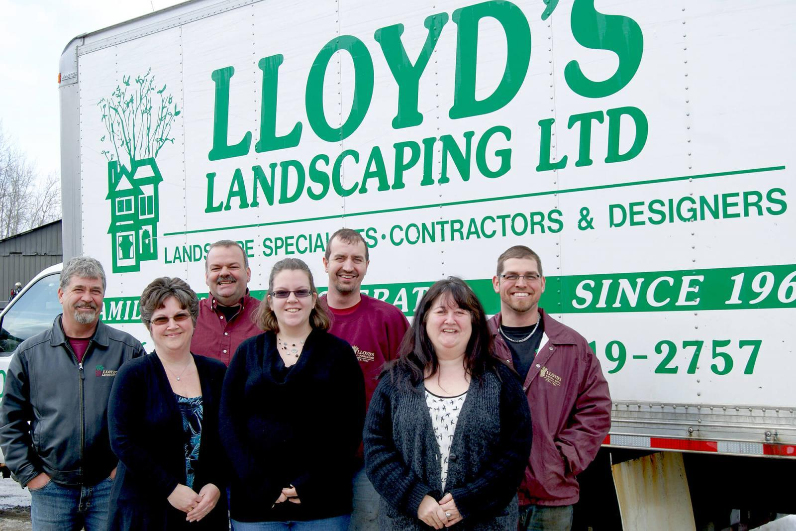 Lloyd's Landscaping family celebrates 50 years on the job