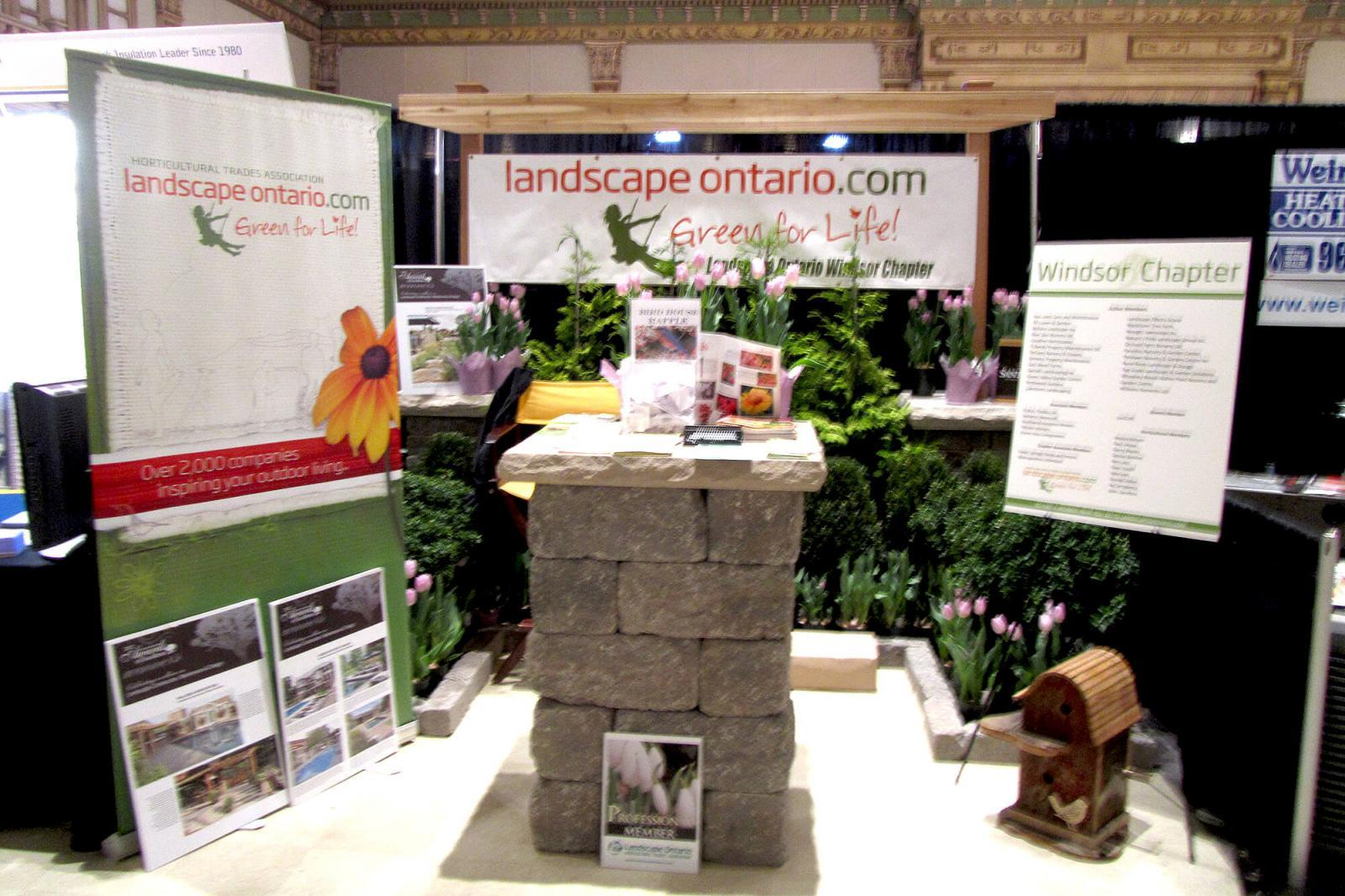 Windsor Chapter spreads the message at home show