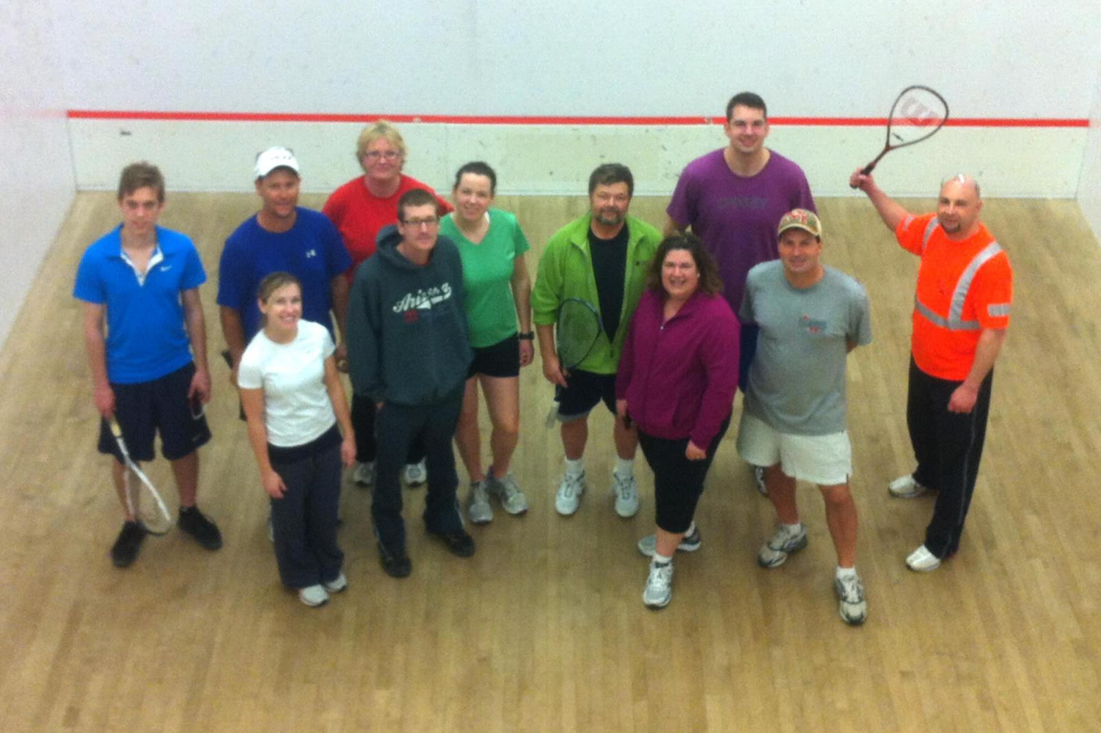 Upper Canada Chapter's Second Annual Squash Tournament