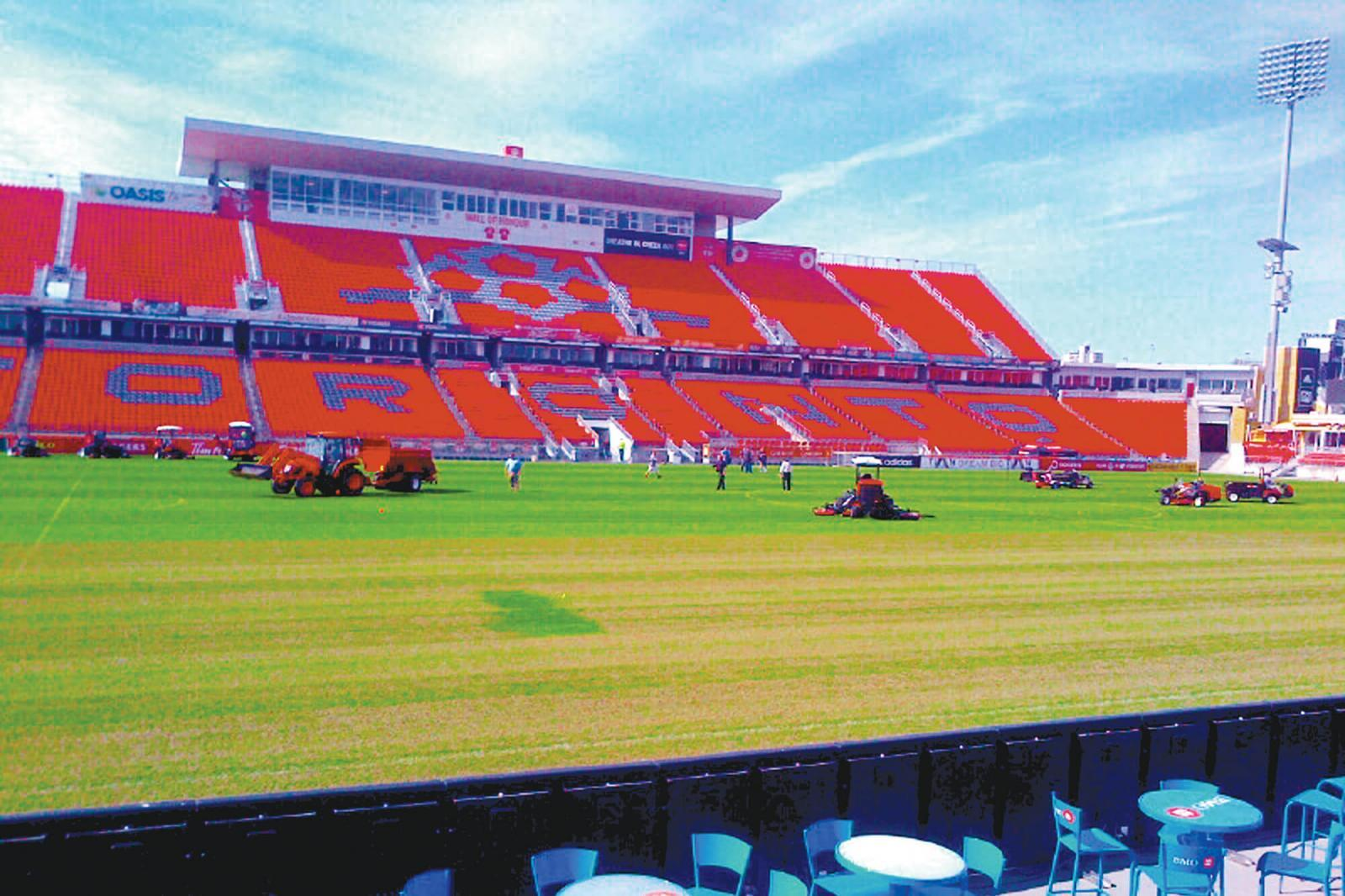 Turf Care holds second event at BMO Field