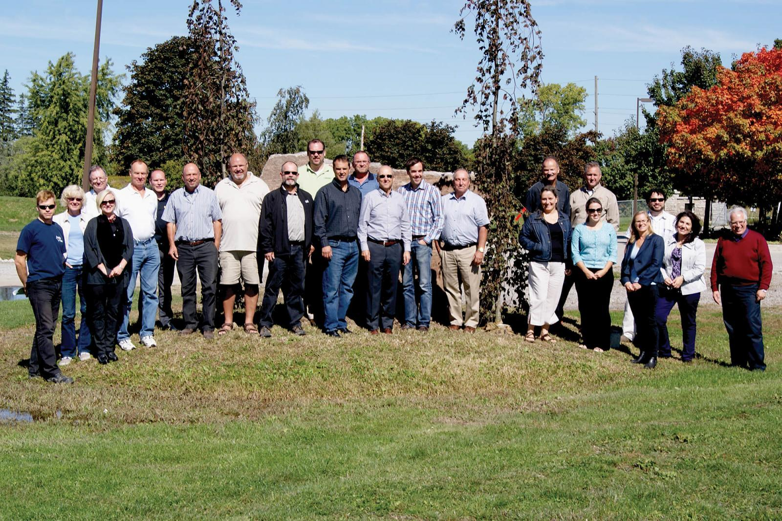 Landscape Ontario members celebrate National Tree Day 2013