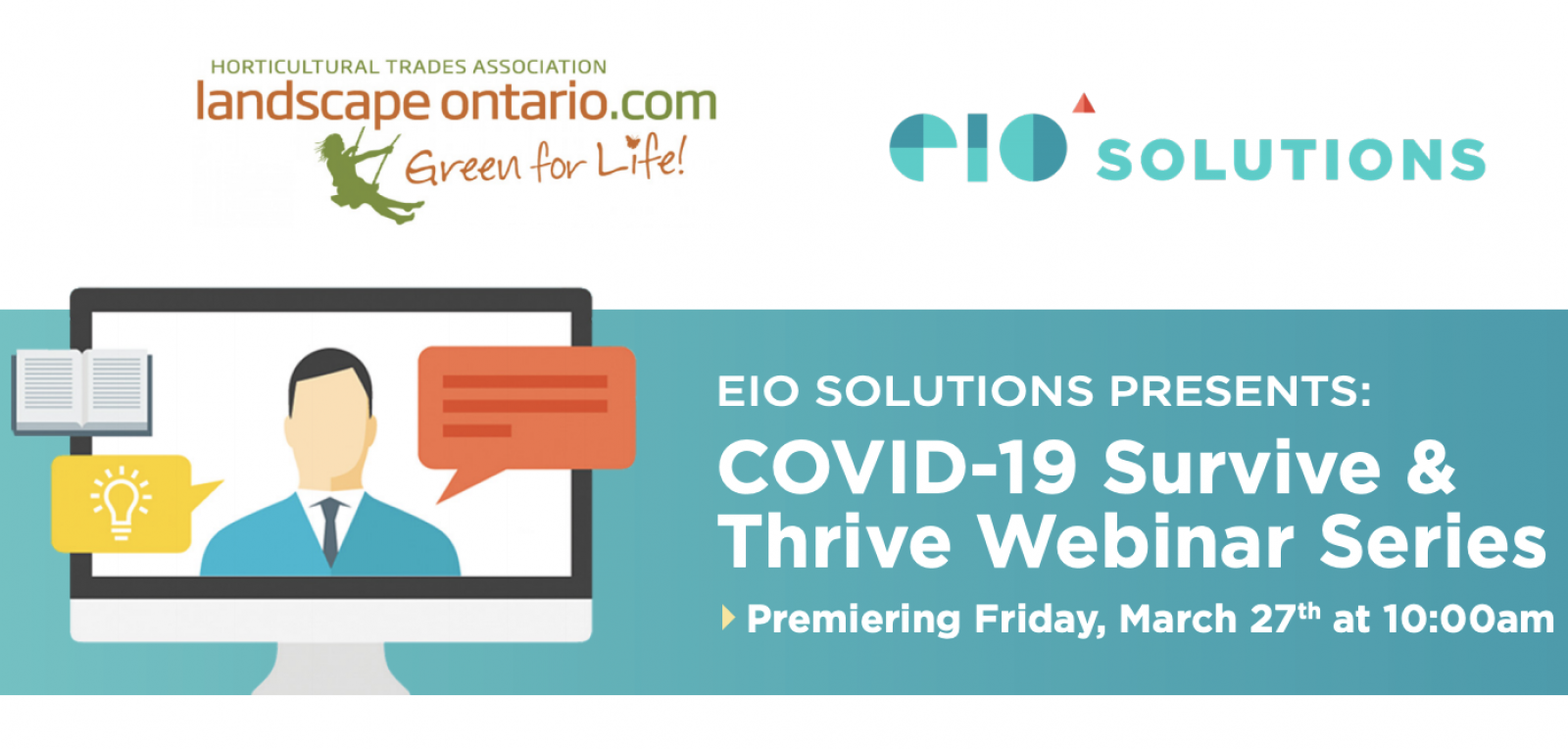 COVID-19 Survive and Thrive Webinar Series by EIO Solutions