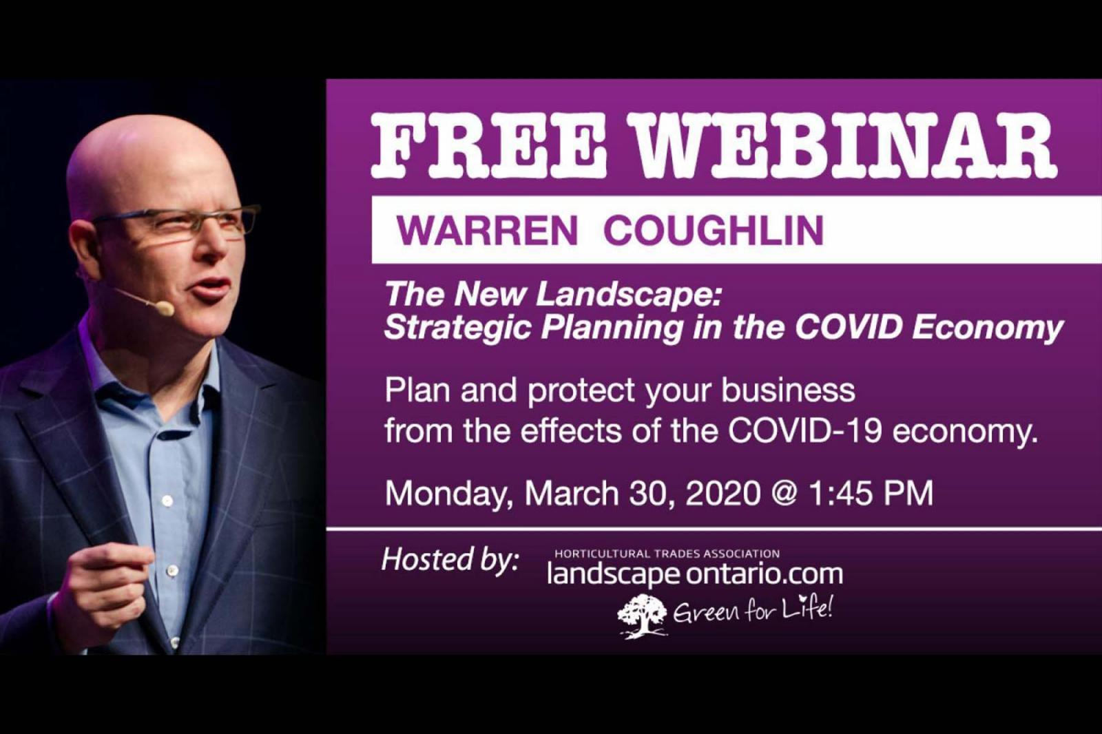 Strategic Planning in the COVID Economy with Warren Coughlin