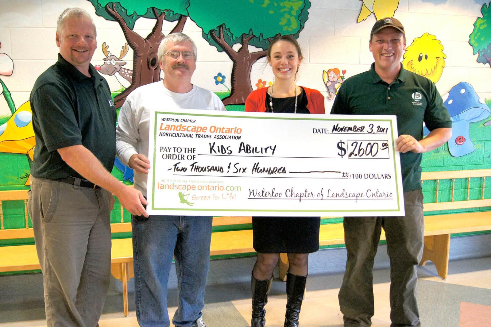 Waterloo helps KidsAbility