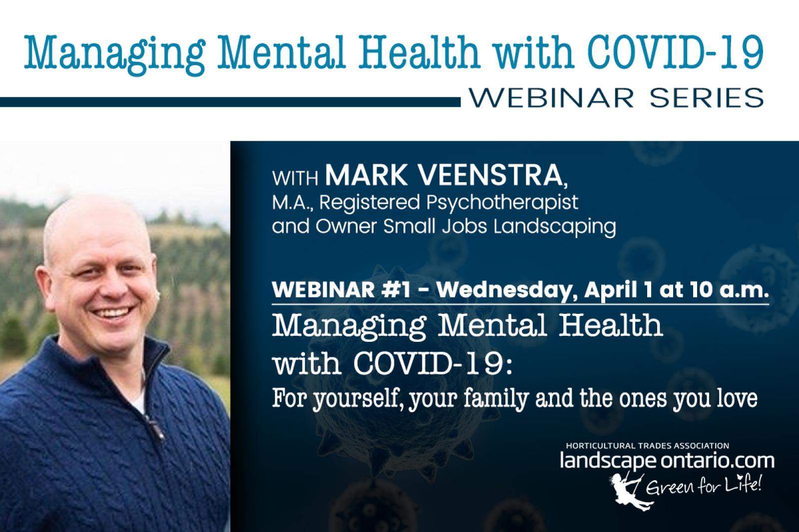 Webinar Managing Mental Health with COVID-19: Part 1
