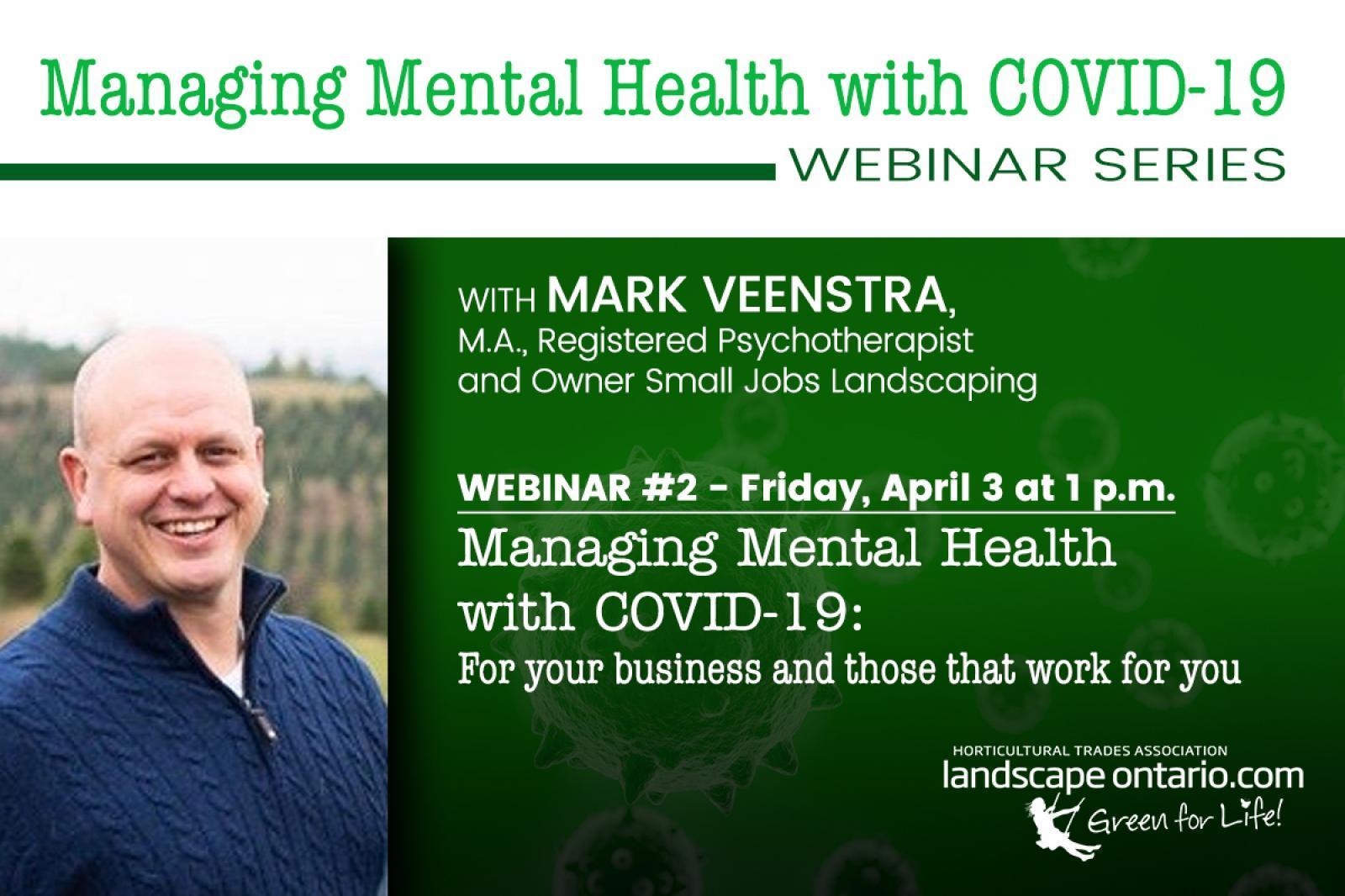 Webinar Managing Mental Health with COVID-19: Part 2