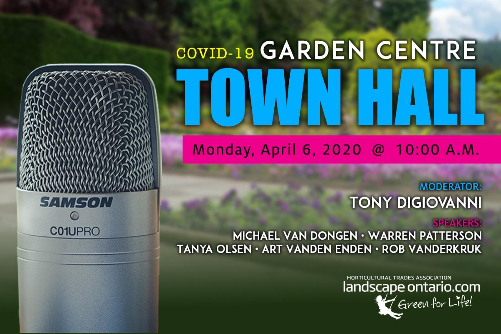 COVID-19 Town Hall Webinar for Garden Centres