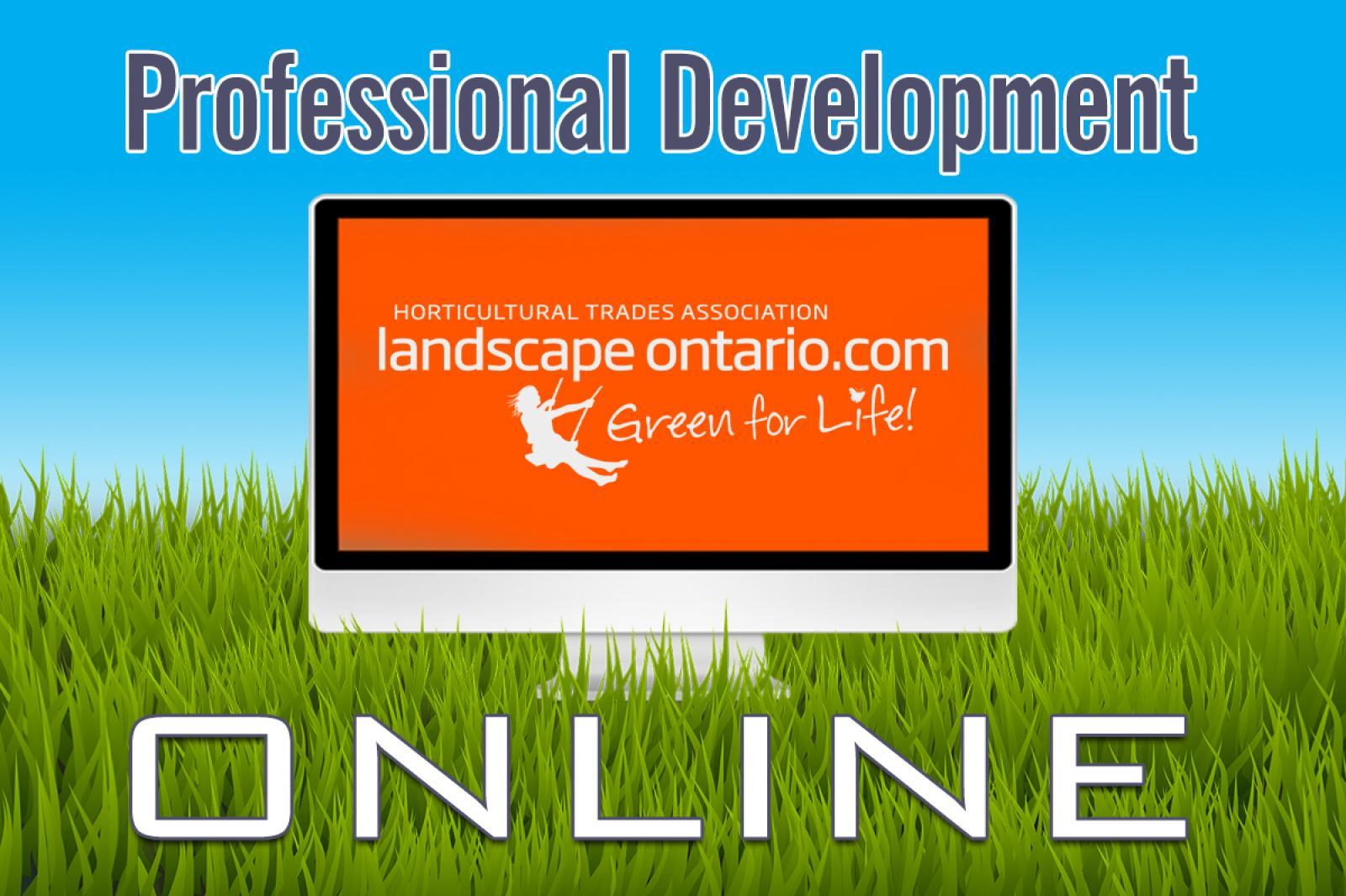 Pro Dev Online Canadian Landscape Standards