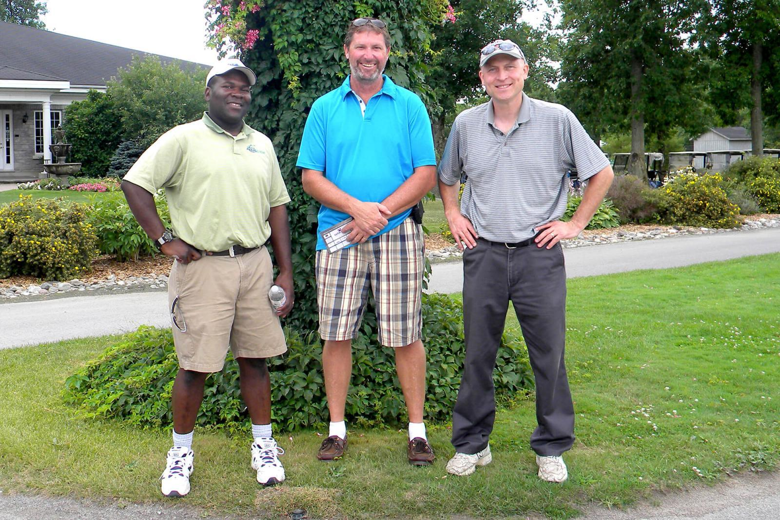 Chapter golf tournaments in 2012