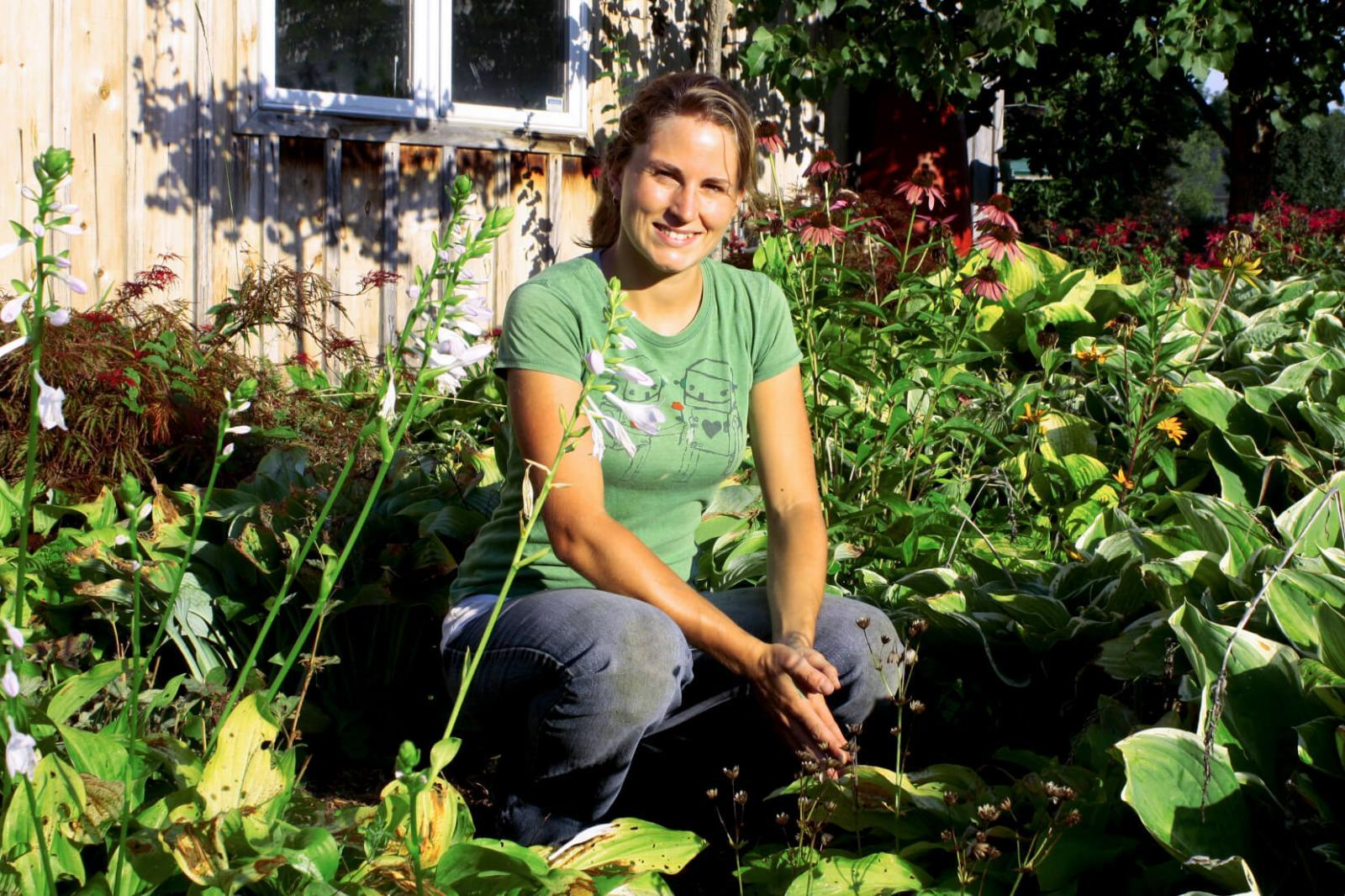 Summer intern Marette Sharpe has ideas to promote horticulture's future.
