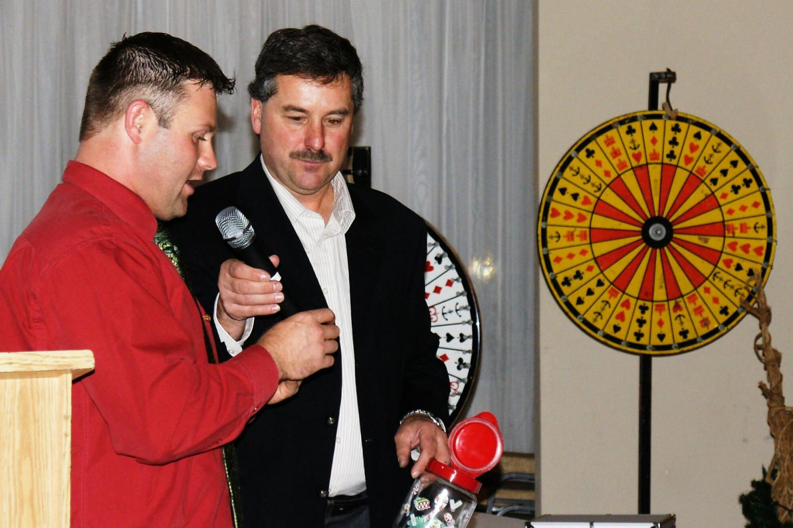 Michael LaPorte and Nick Solty helped to organize a great Christmas event for the Georgian Lakelands Chapter.