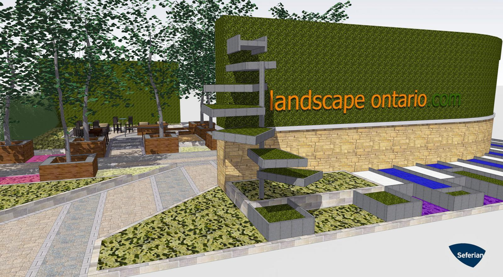 Those attending Canada Blooms this year will enter through Landscape Ontario's Green for Life garden.