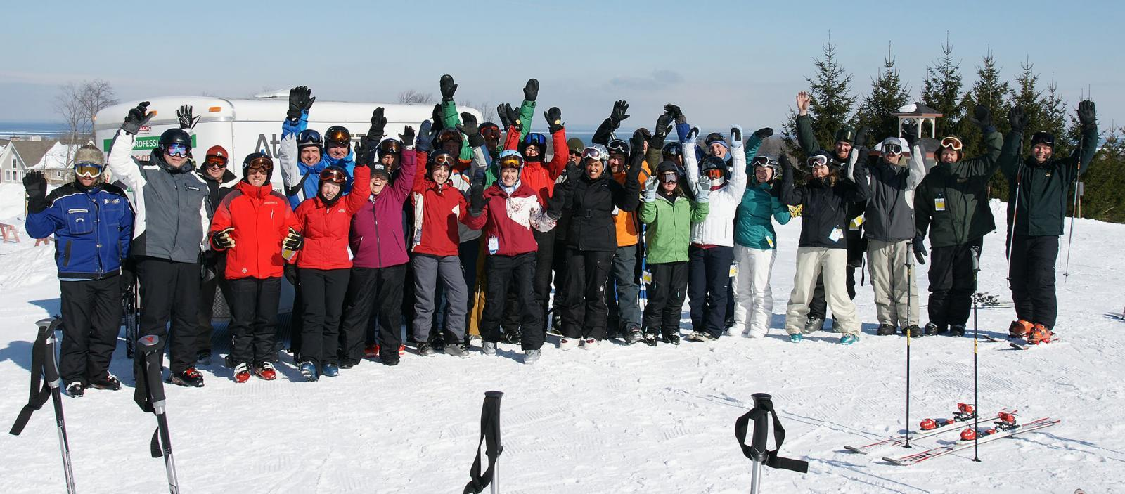 Ski Day attracts record attendance