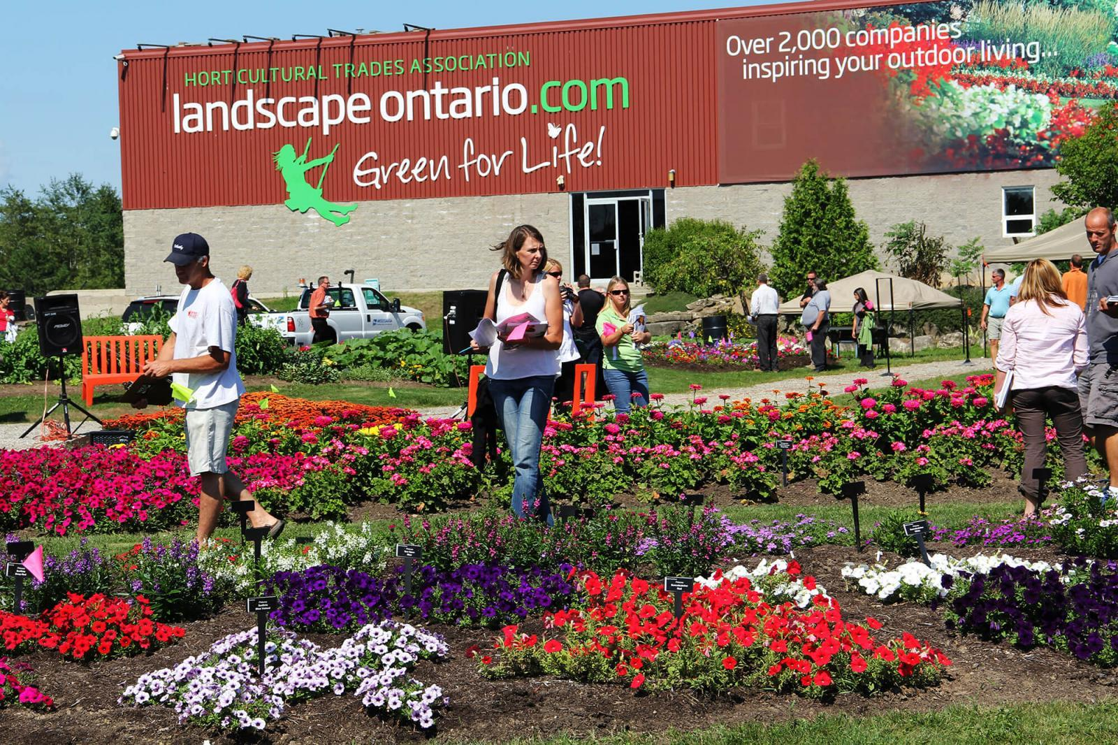 Over 200 visitors took advantage of the trial gardens open house.