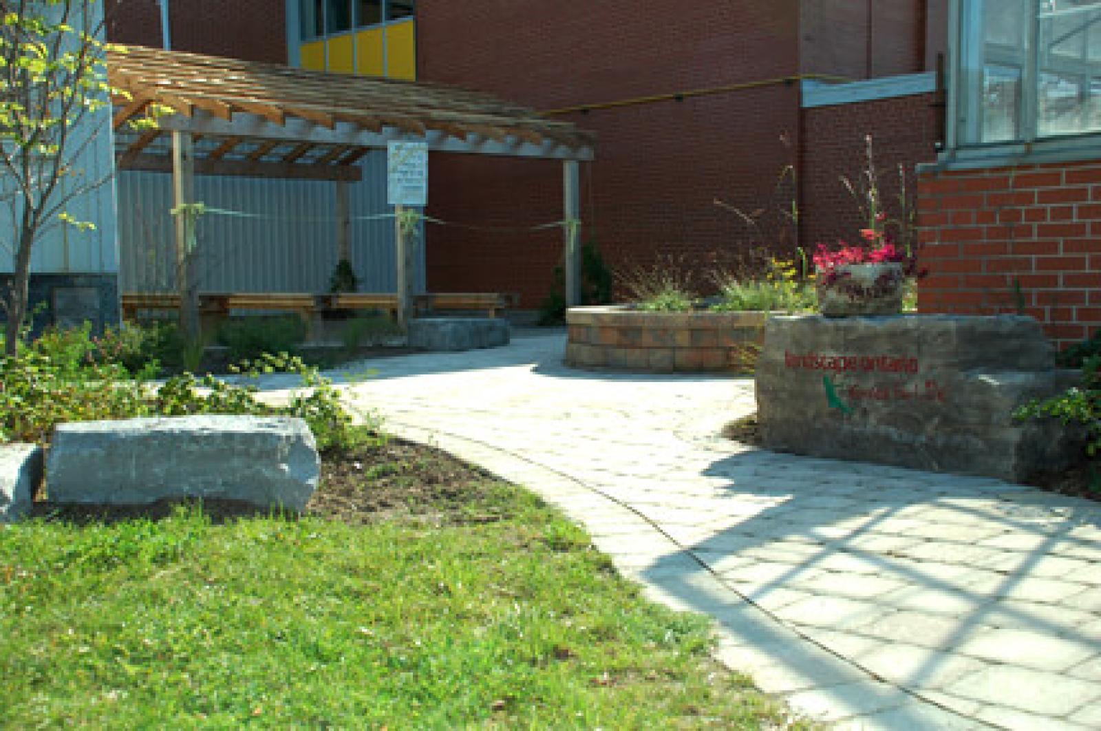Waterloo's latest greening project creates outdoor classroom
