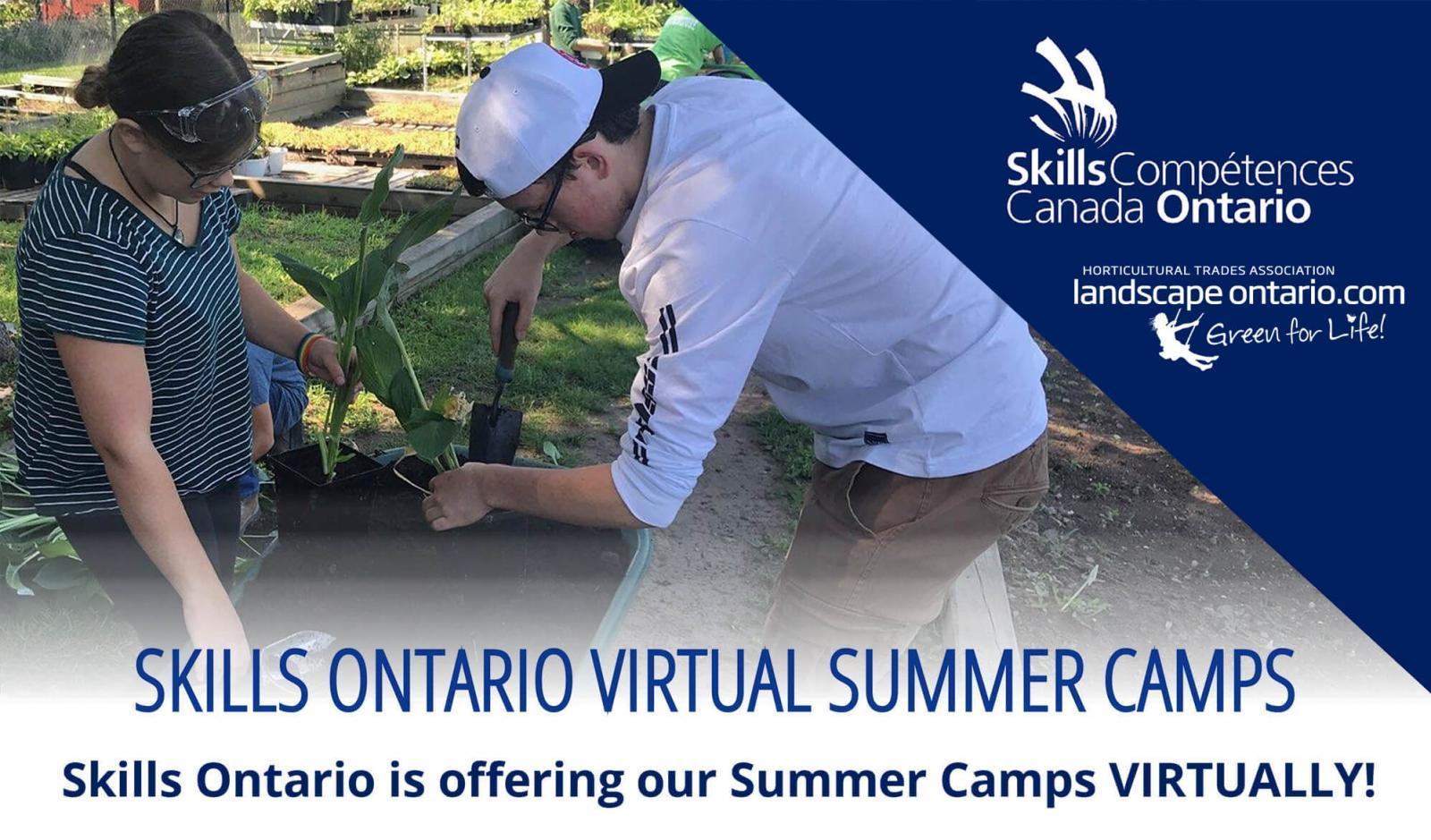 Skills Ontario 2020 Summer Camps