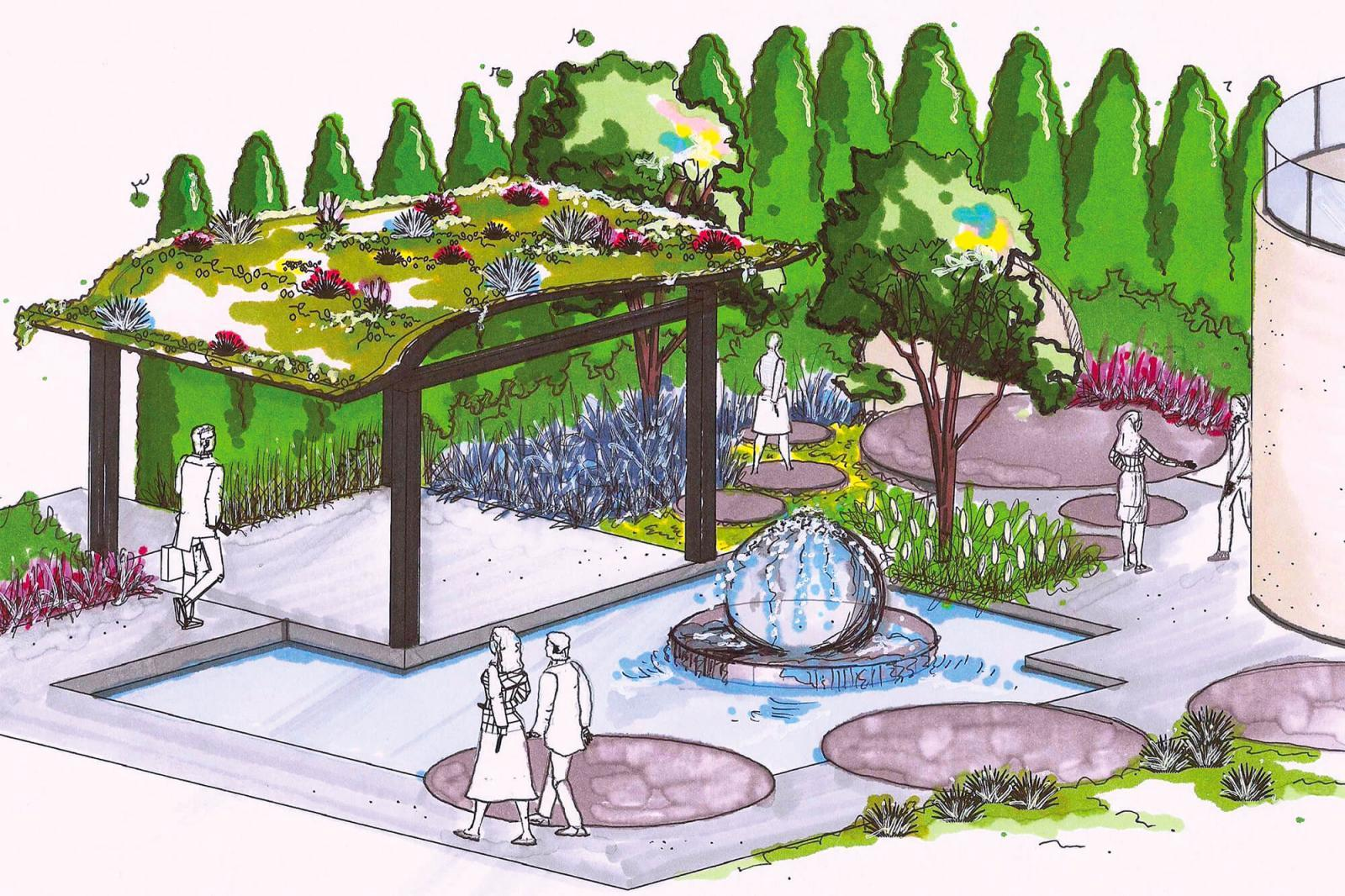 Considered the most ambitious project ever built by Landscape Ontario members, the feature garden at Canada Blooms will embrace water, spectacular plants, unique hardscaping materials and superb craftsmanship.