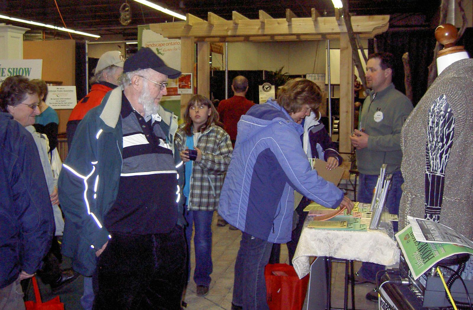 The London Chapter had great success attracting attention at the annual home show.