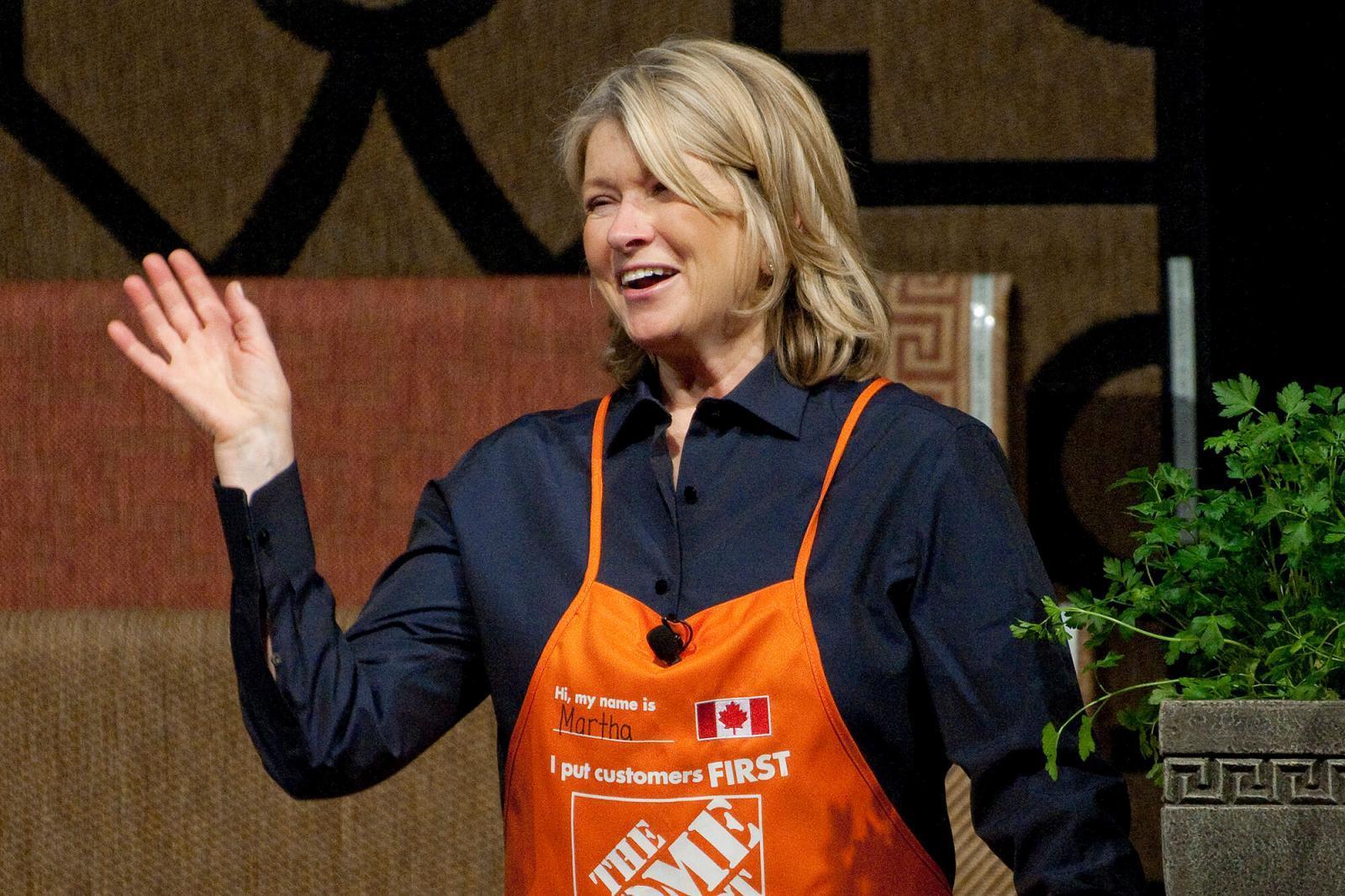 Martha Stewart at Blooms