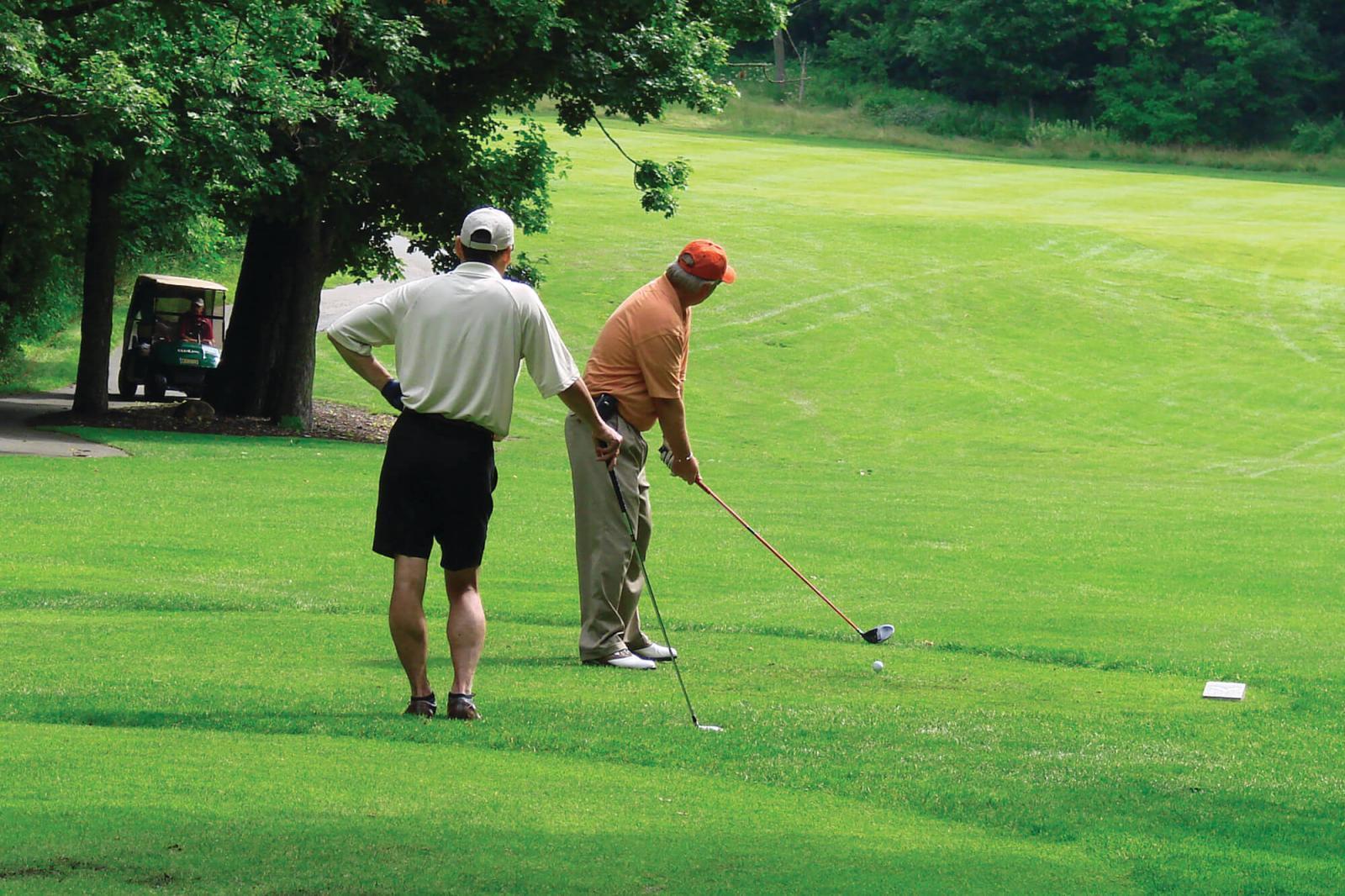 Can you believe it's golf season already?