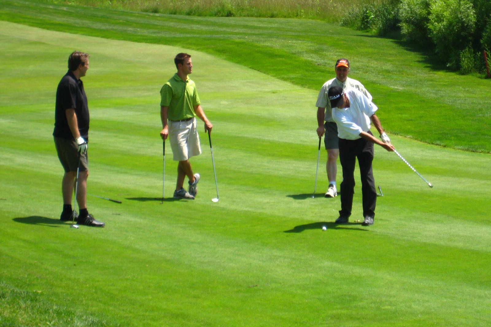 LO golf season offers many benefits