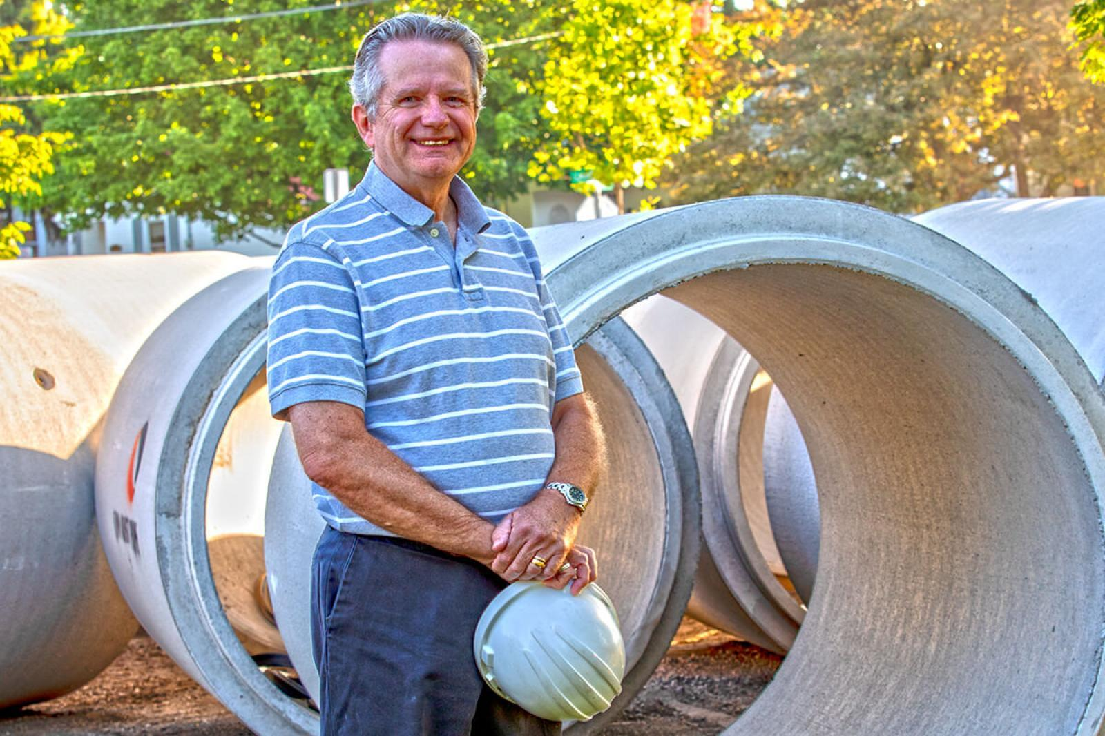 Landscape architect Ron Koudys has always believed in a bright, green future.