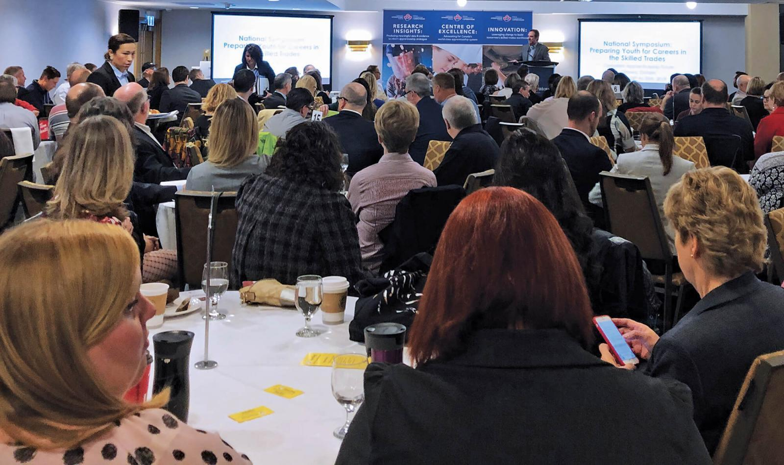 The two-day Canadian Apprenticeship Forum held in Ottawa, Ont., addressed key concerns of apprenticeship programs and careers in the Skilled Trades.