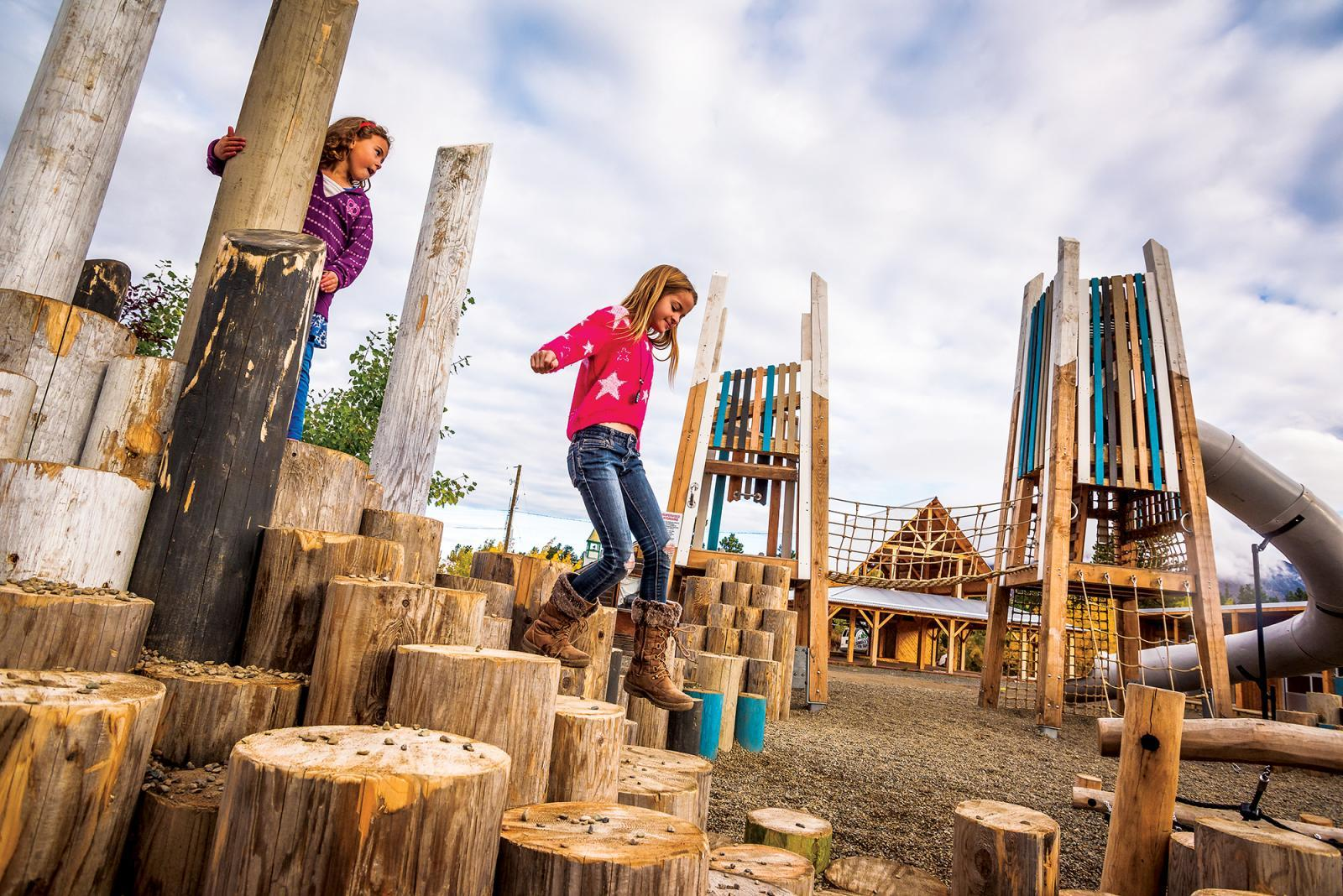 Niche market nurtures with nature: Contractors diversify into natural playgrounds