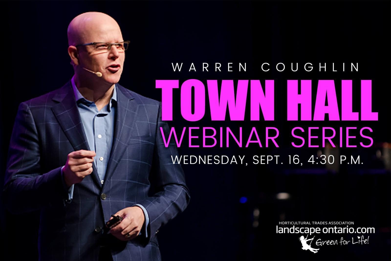 Town Hall Warren Coughlin - LO webpage webinar