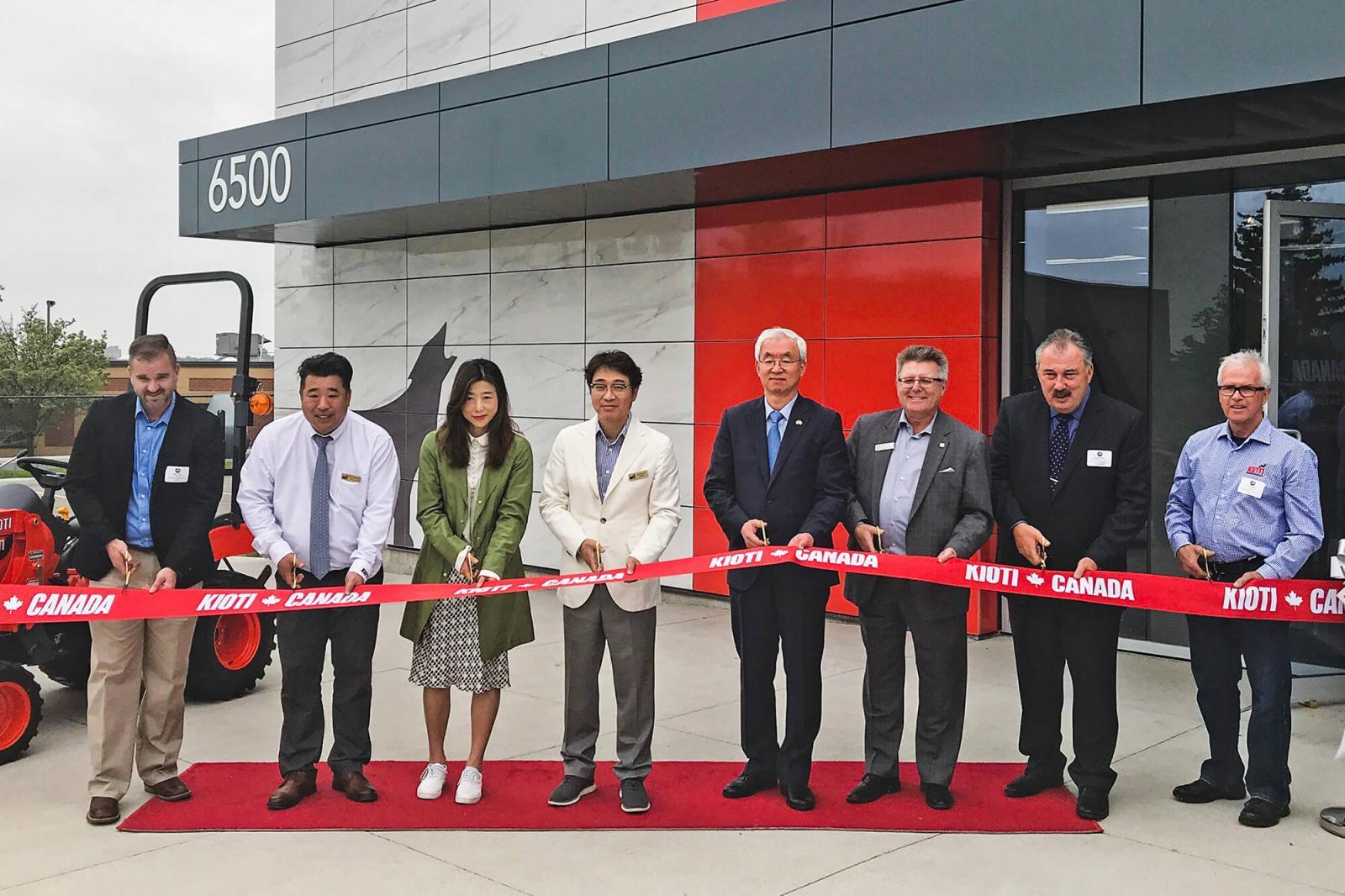Kioti opens distribution centre
