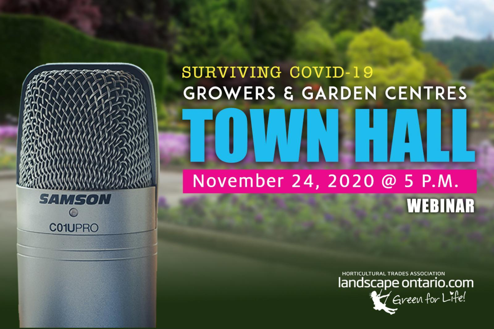 Surviving COVID-19: Town Hall for Growers and Retail