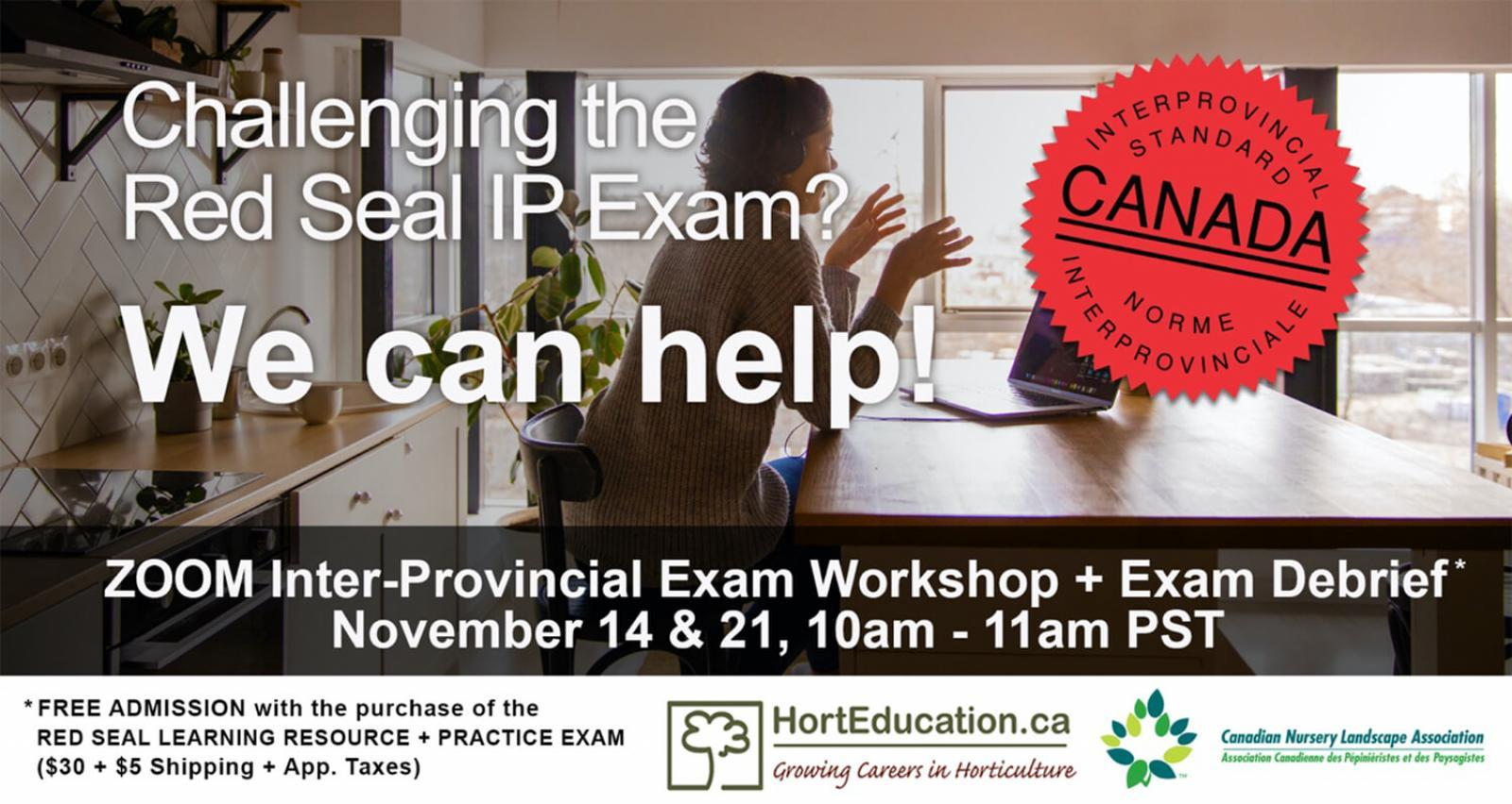 Red Seal exam workshop November 2020