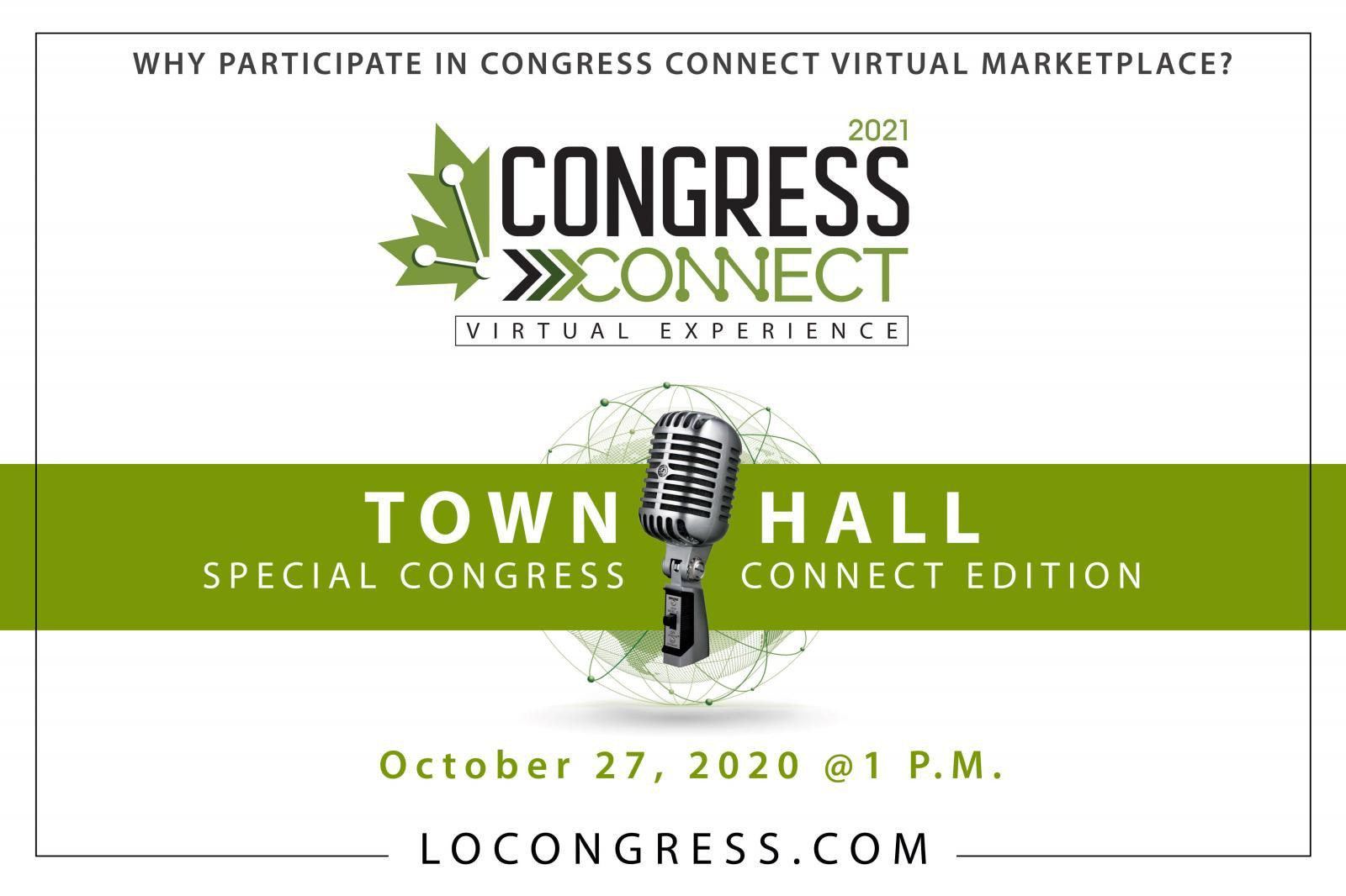 Congress Connect - Town Hall