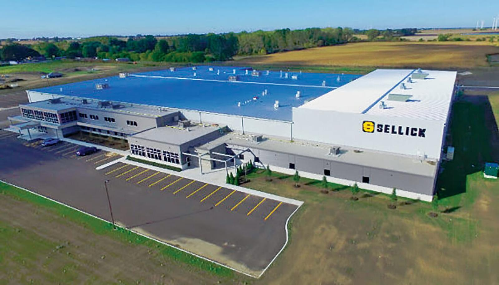 Sellick Equipment completes new manufacturing facility