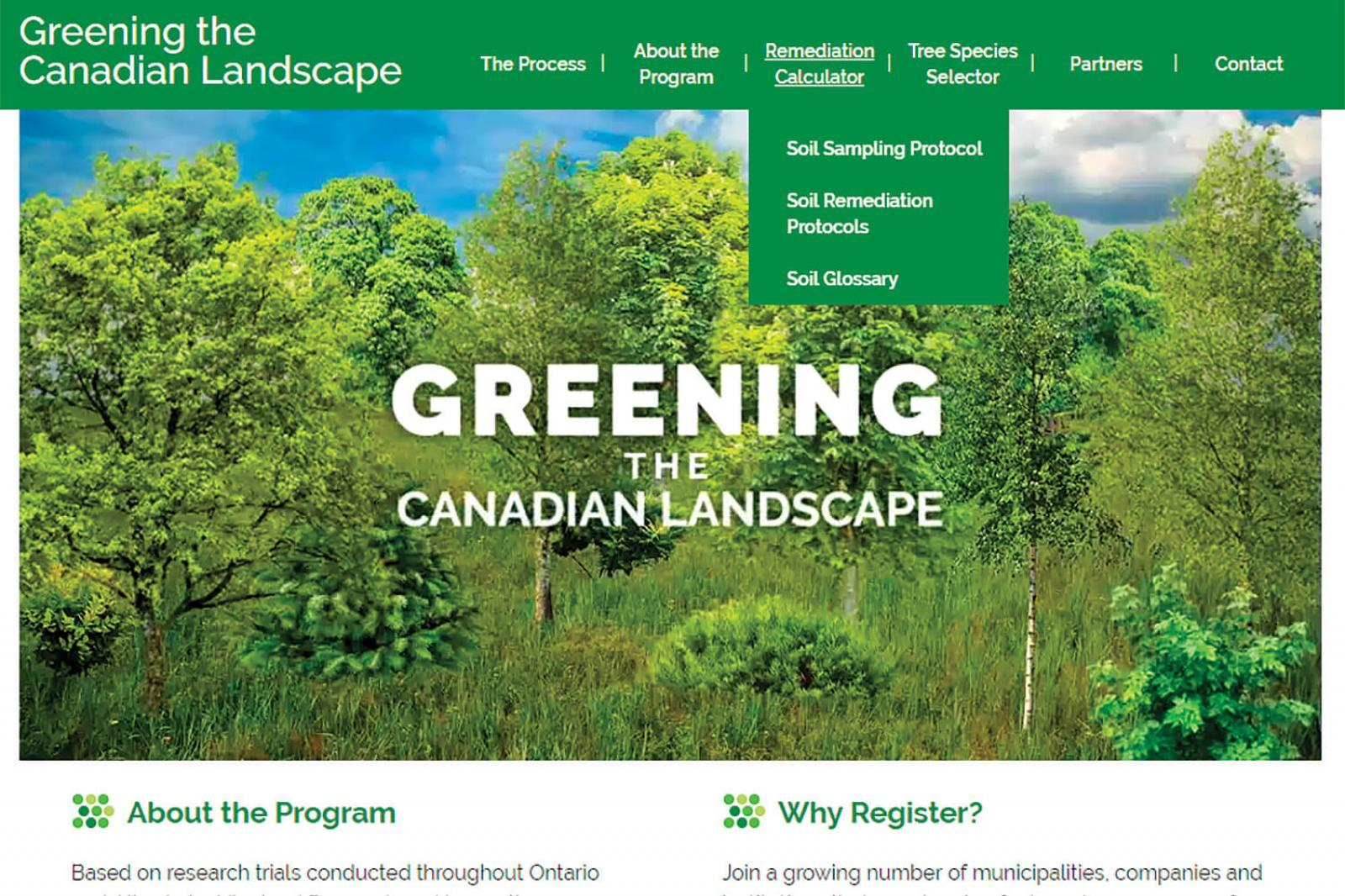 Online tool promotes tree success