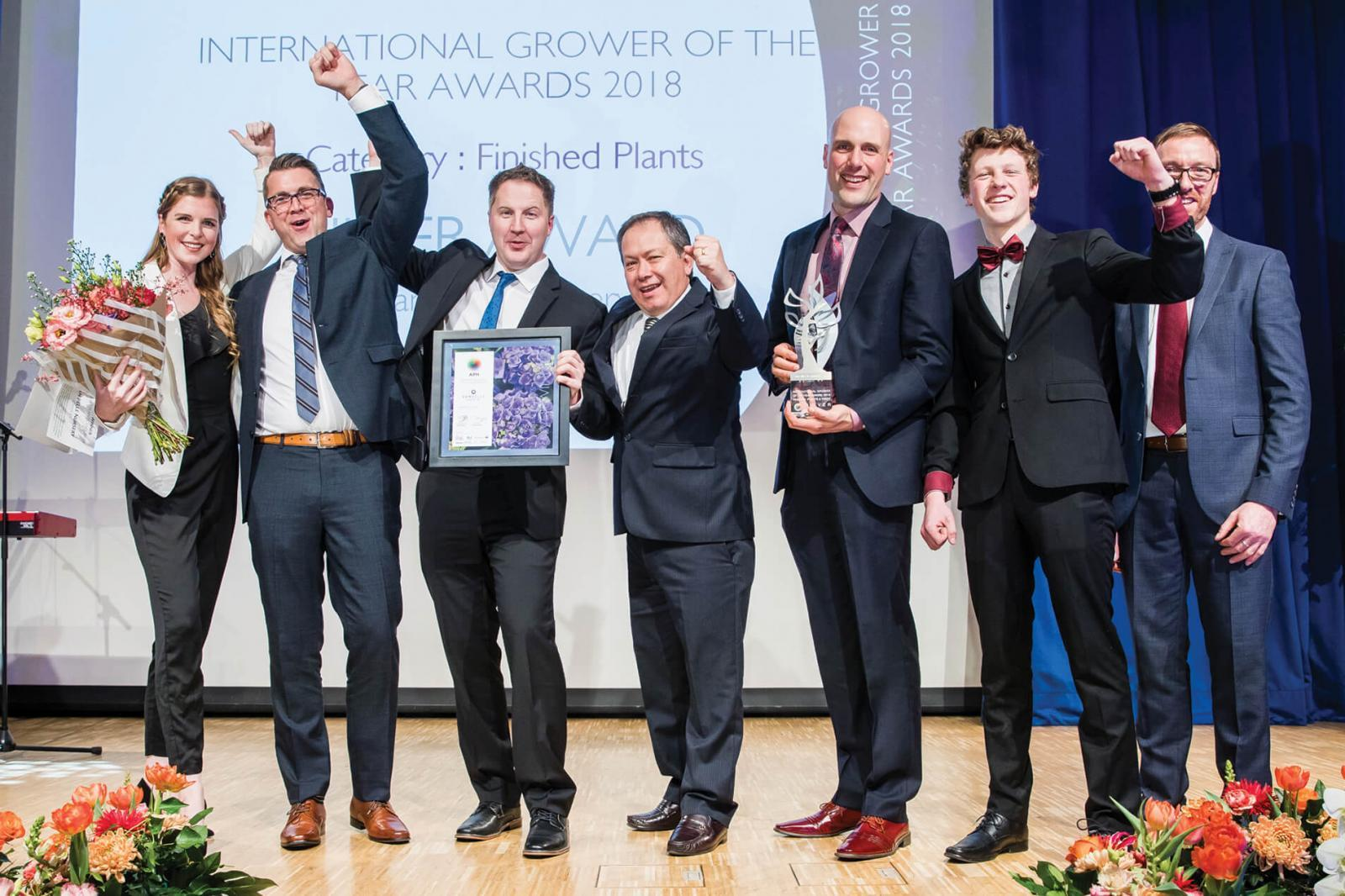 Van Belle Nursery nets two international awards