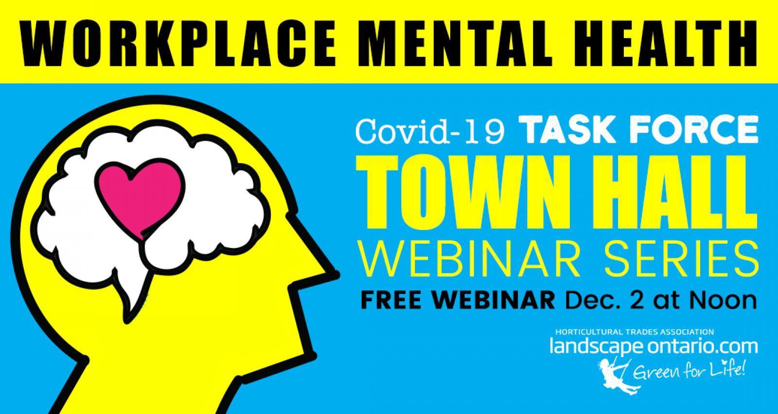 Workplace Mental Health Webinar