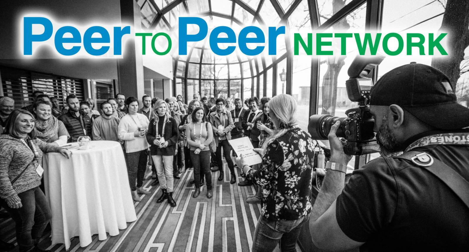 The power of people working together is what LO's Peer to Peer Network is all about.