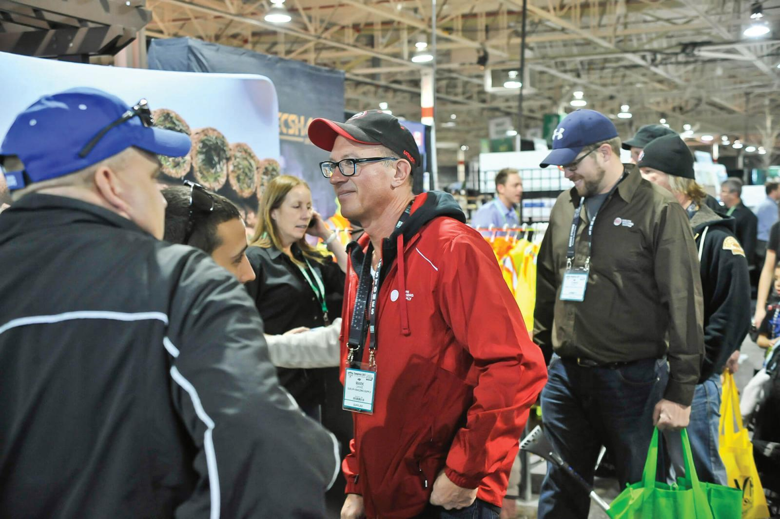 Congress '17 saw an increase in attendees  for the over 600 exhibitors.