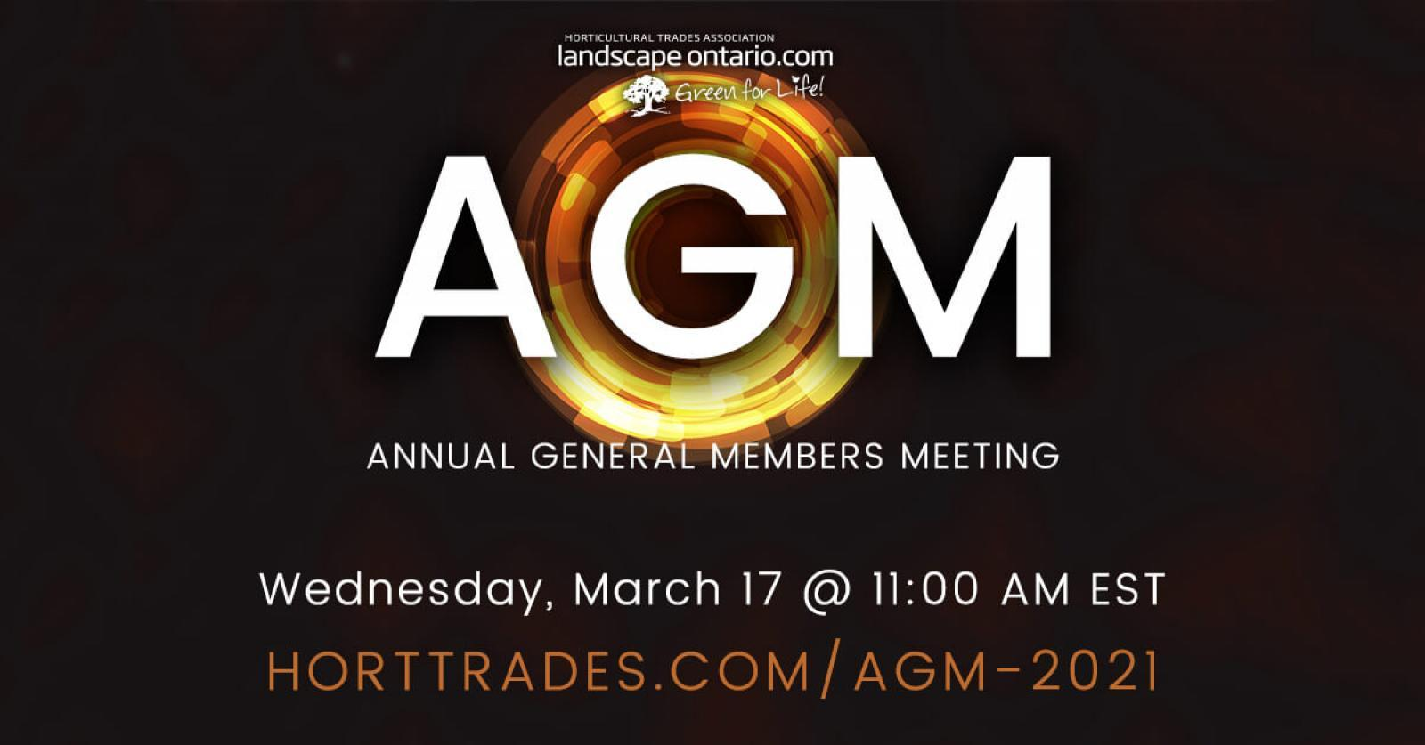 Register for the 2021 LO AGM