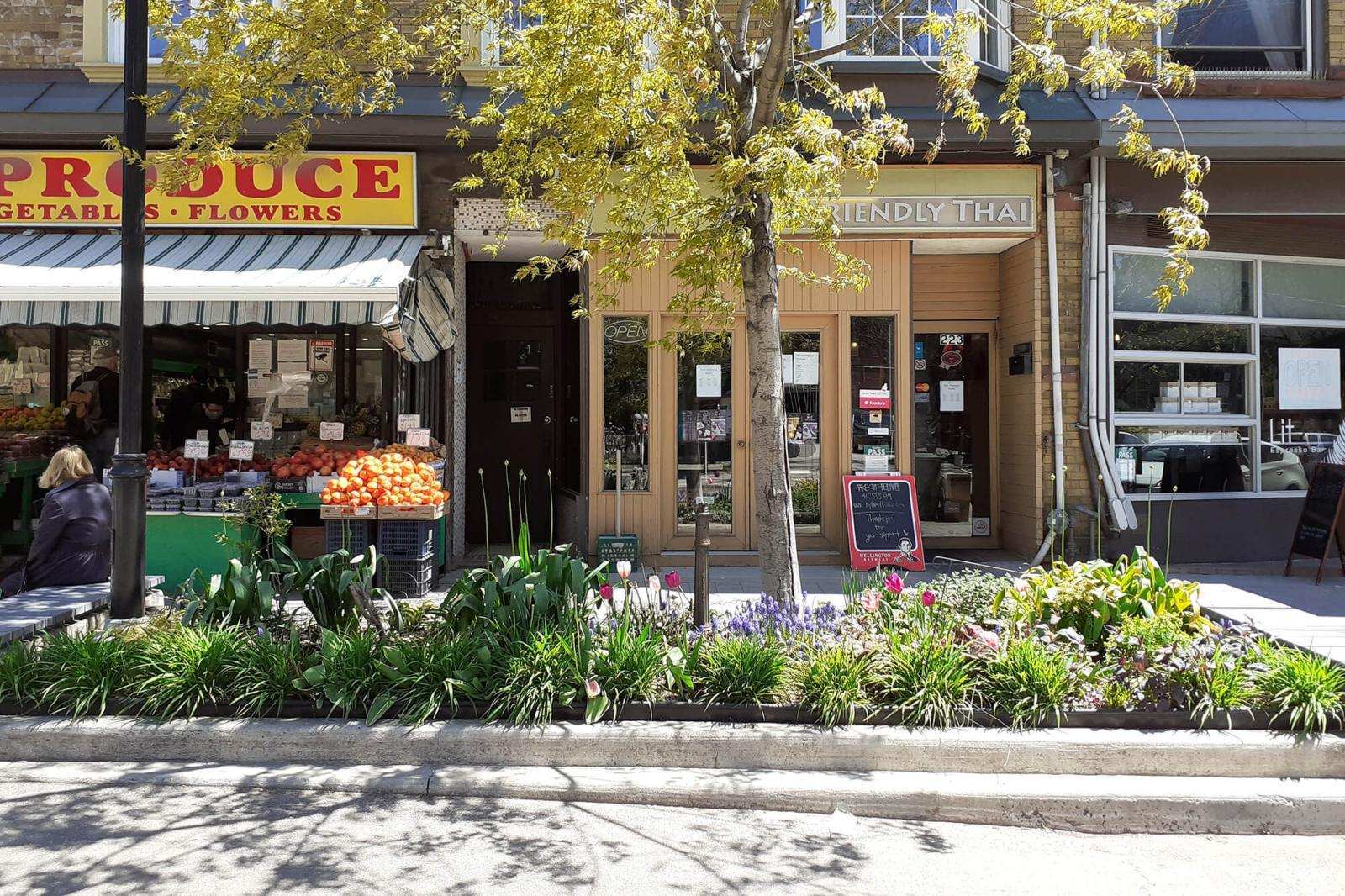 Roncesvalles Village BIA RFP garden design installation and maintenance