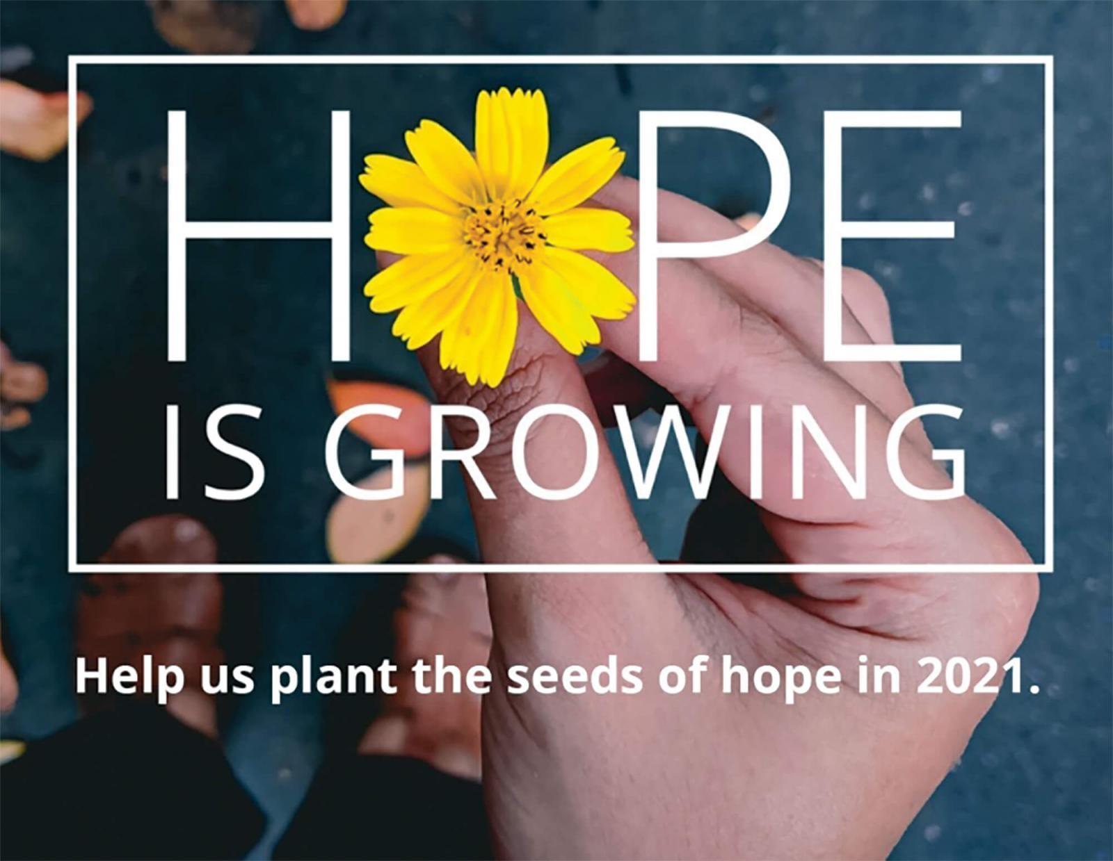 Planting hope from coast to coast