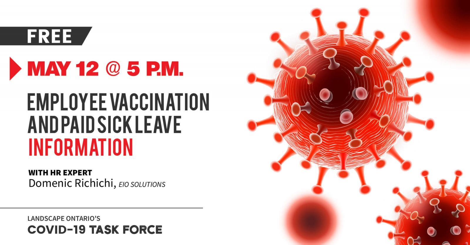 Employee Vaccination and Paid Sick Leave Information