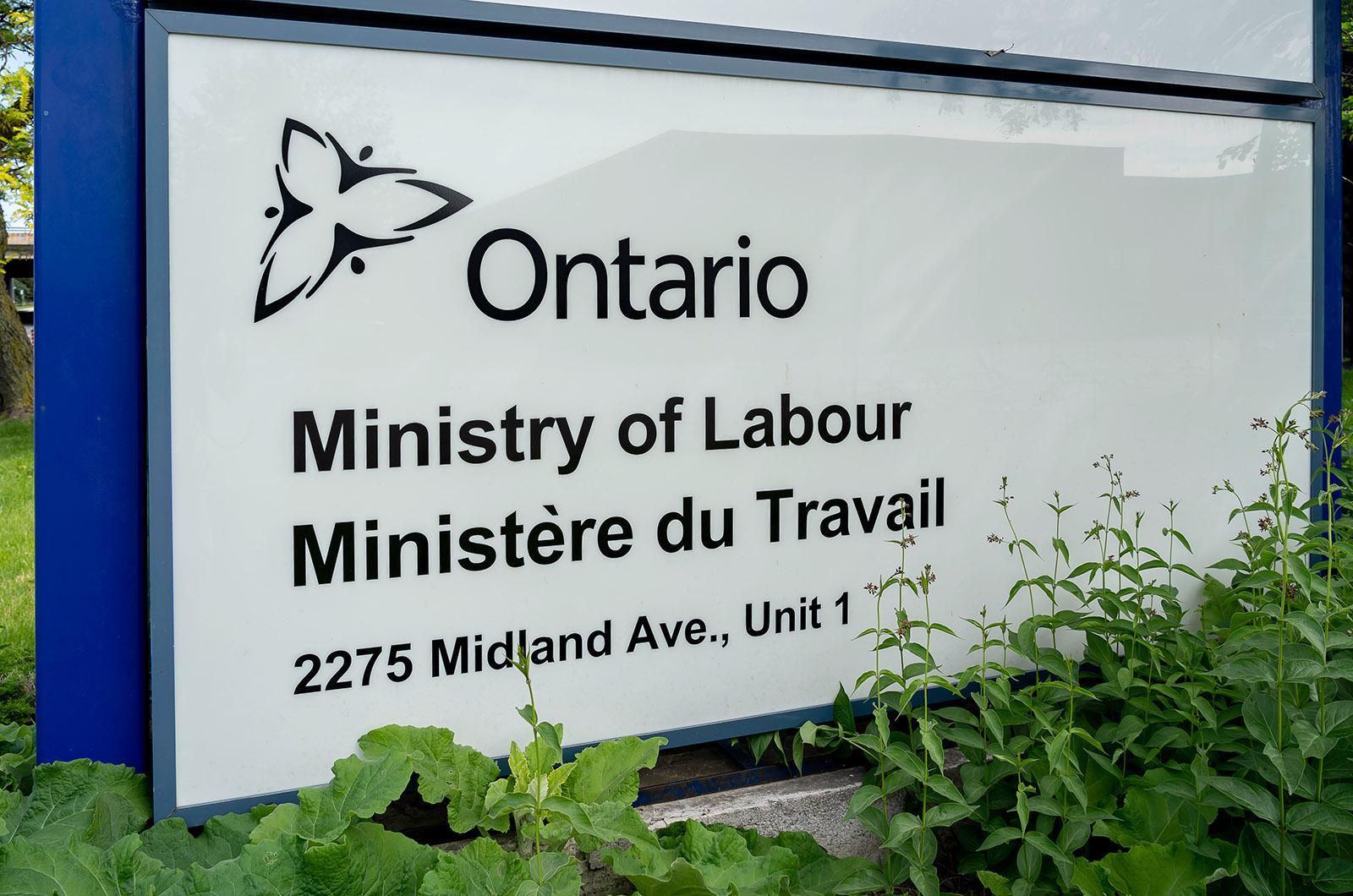 Ontario expands workplace inspections