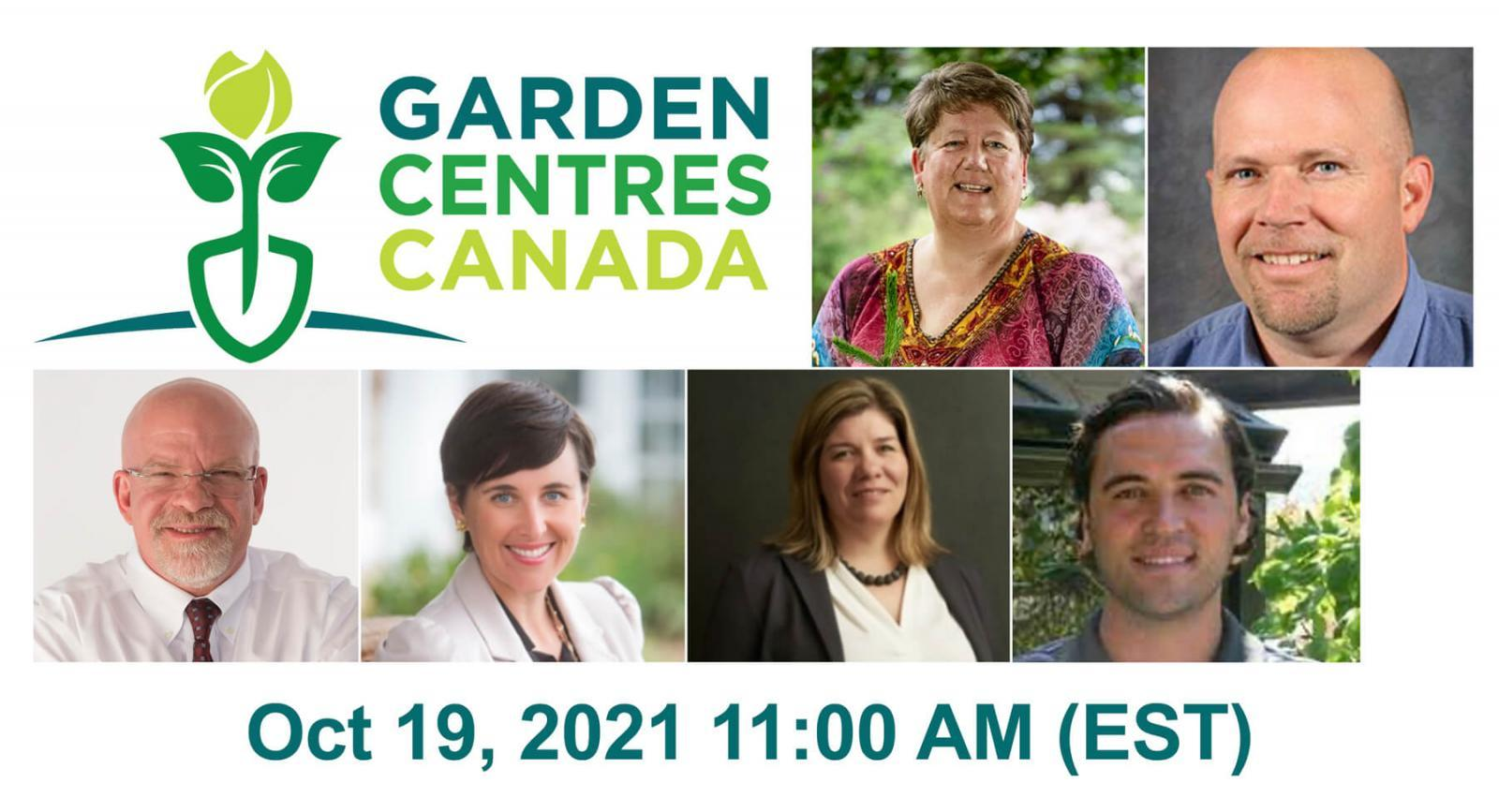 Garden Centres Canada Speaker Series — Oct. 19, 2021
