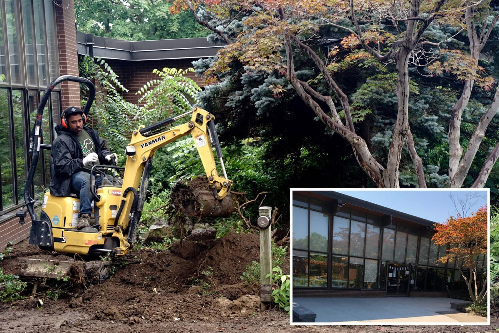 Volunteers are needed to install the softscape at Participation House.