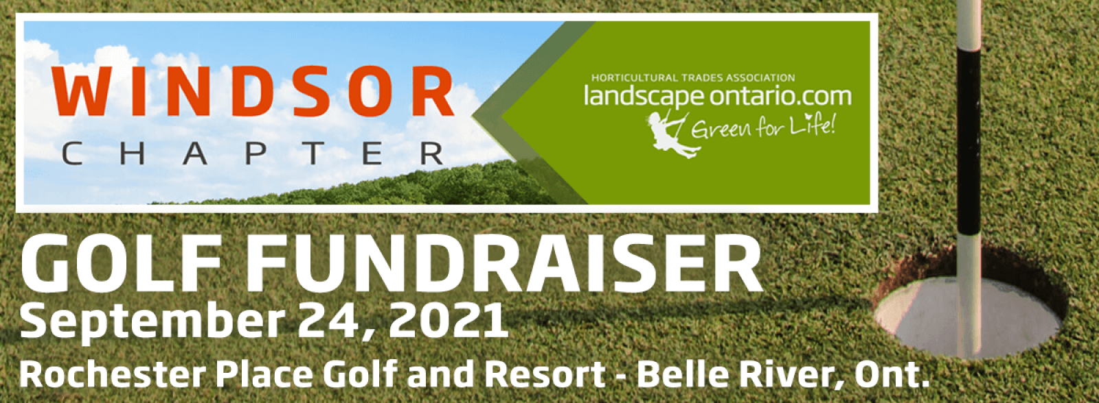 Windsor Chapter 2021 Golf Fundraiser