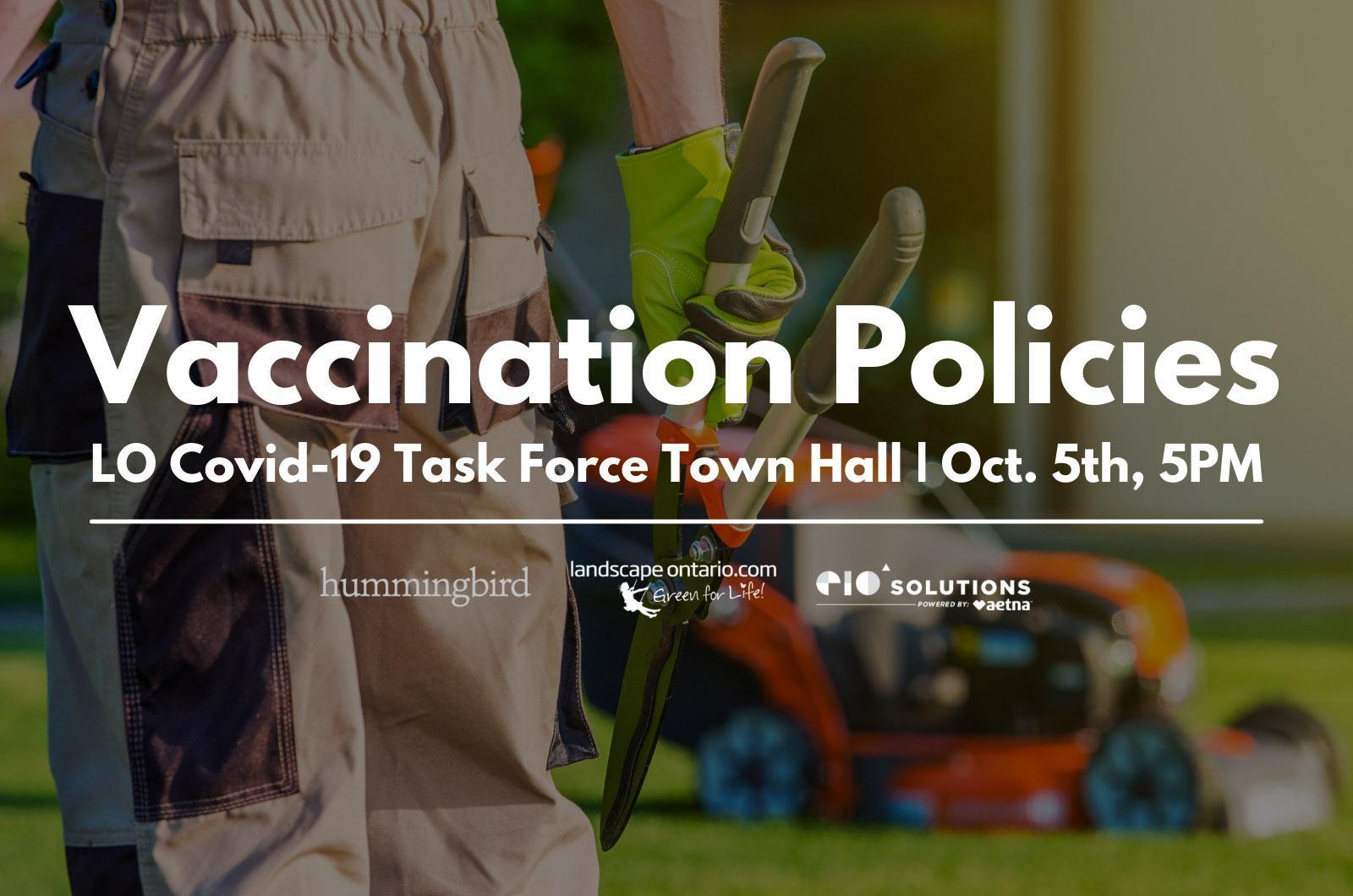 Vaccination Policies Webinar